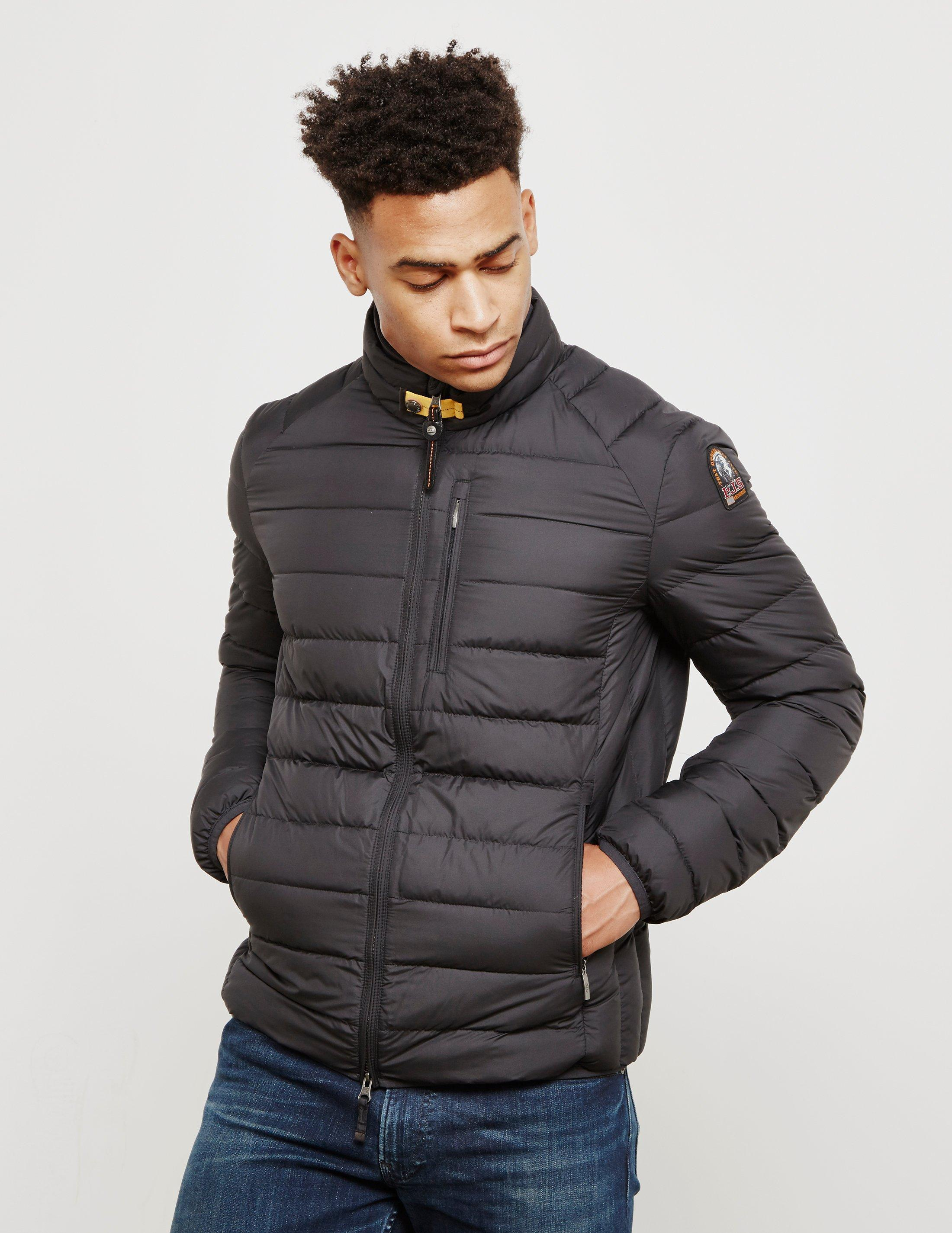 Parajumpers. Mens Ugo Lightweight Jacket Black