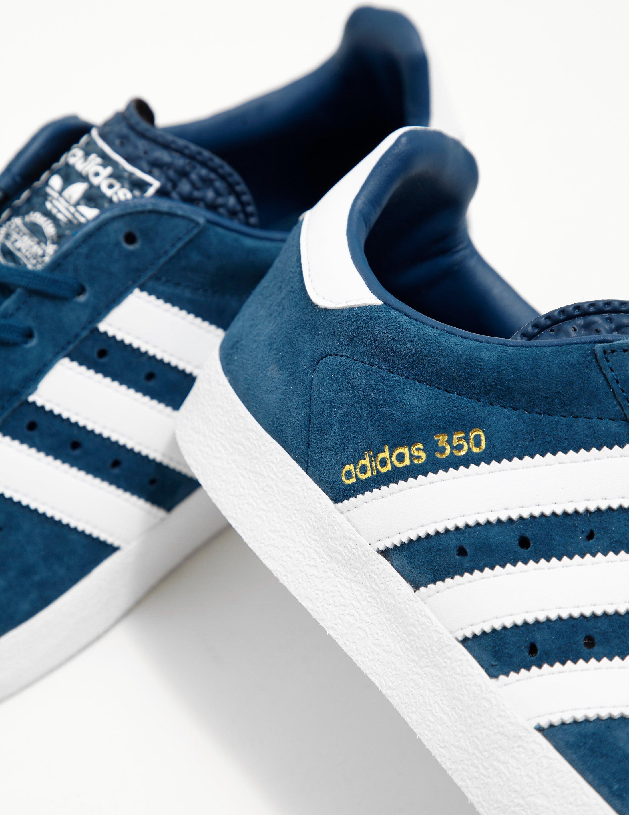 ea09391935bf1 adidas Originals Mens 350 Suede Blue in Blue for Men - Lyst
