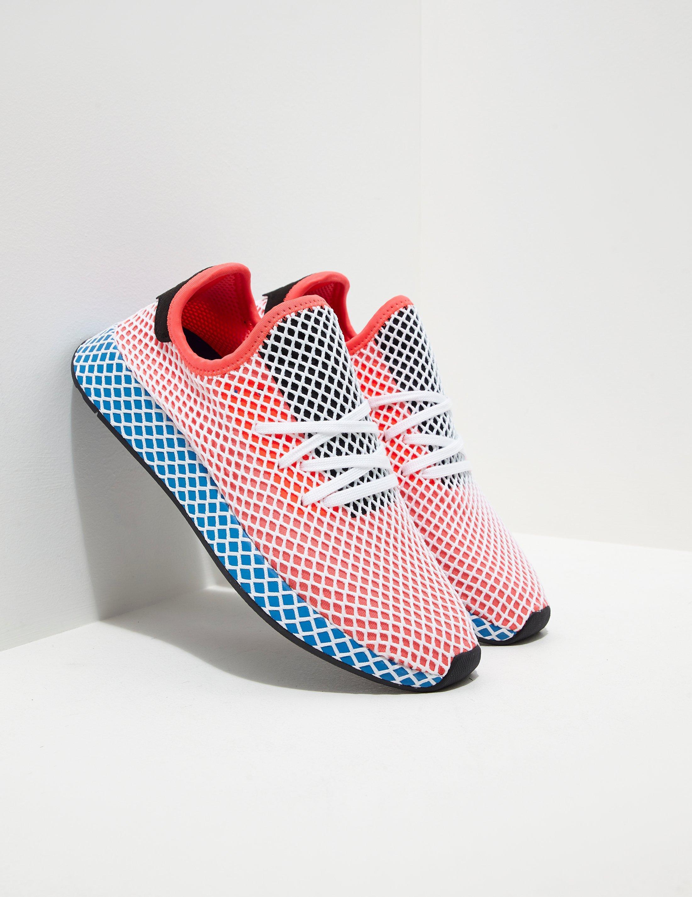 Lyst - adidas Originals Mens Deerupt Red blue in Blue for Men 026964852