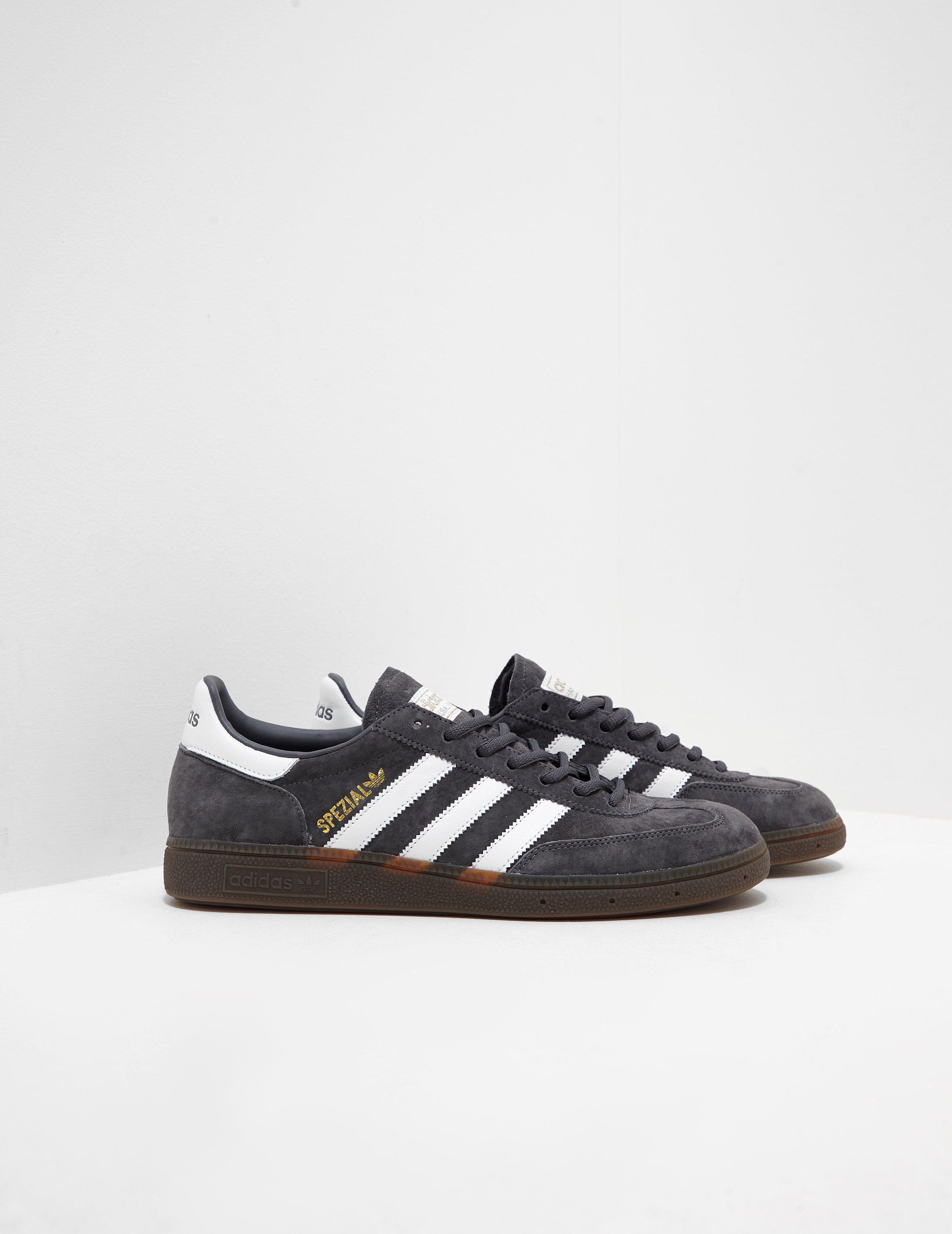 26aa3c6d739e Adidas Originals Mens Handball Spezial Grey in Gray for Men - Lyst