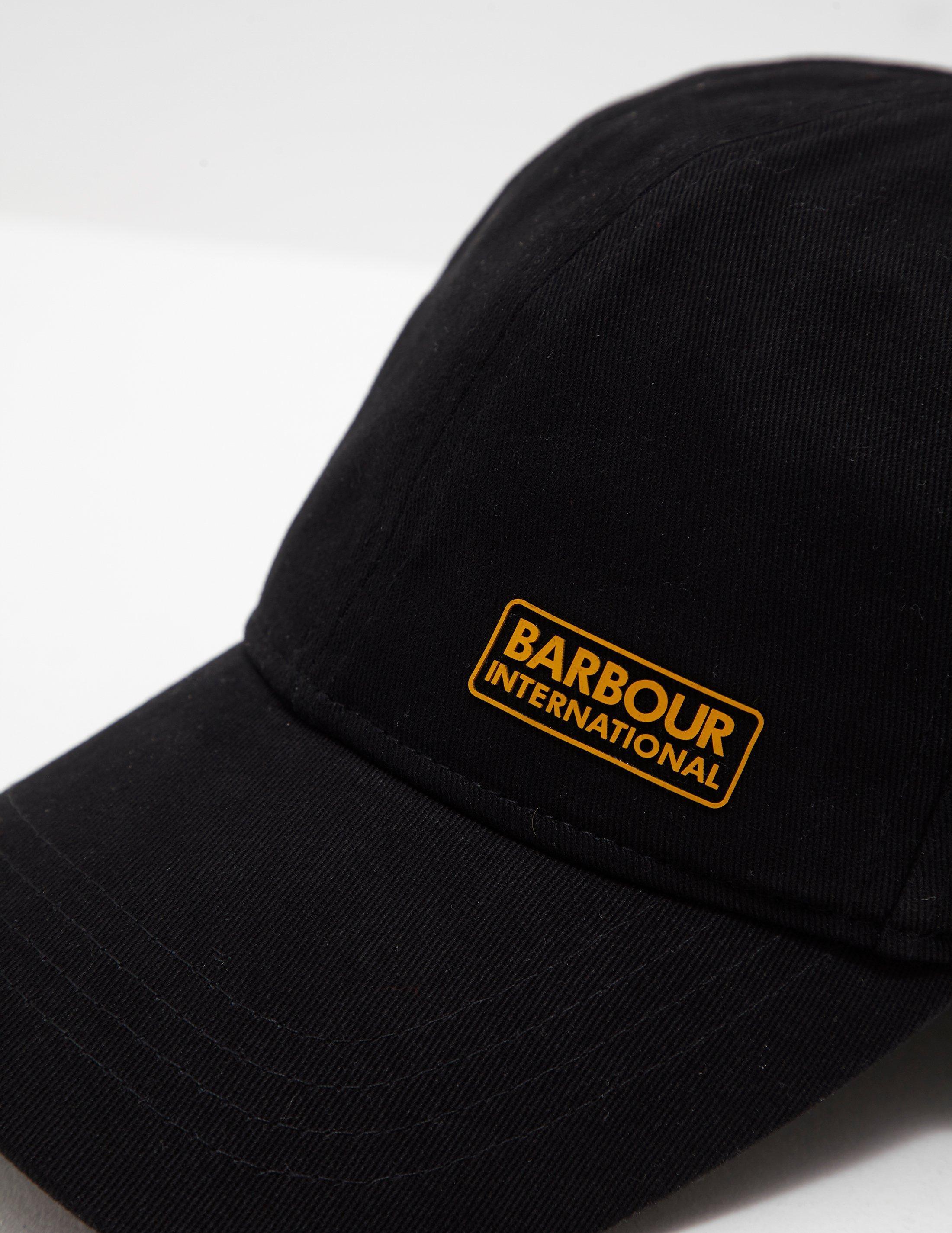 11963d470da781 Barbour Norton Cap Black in Black for Men - Lyst