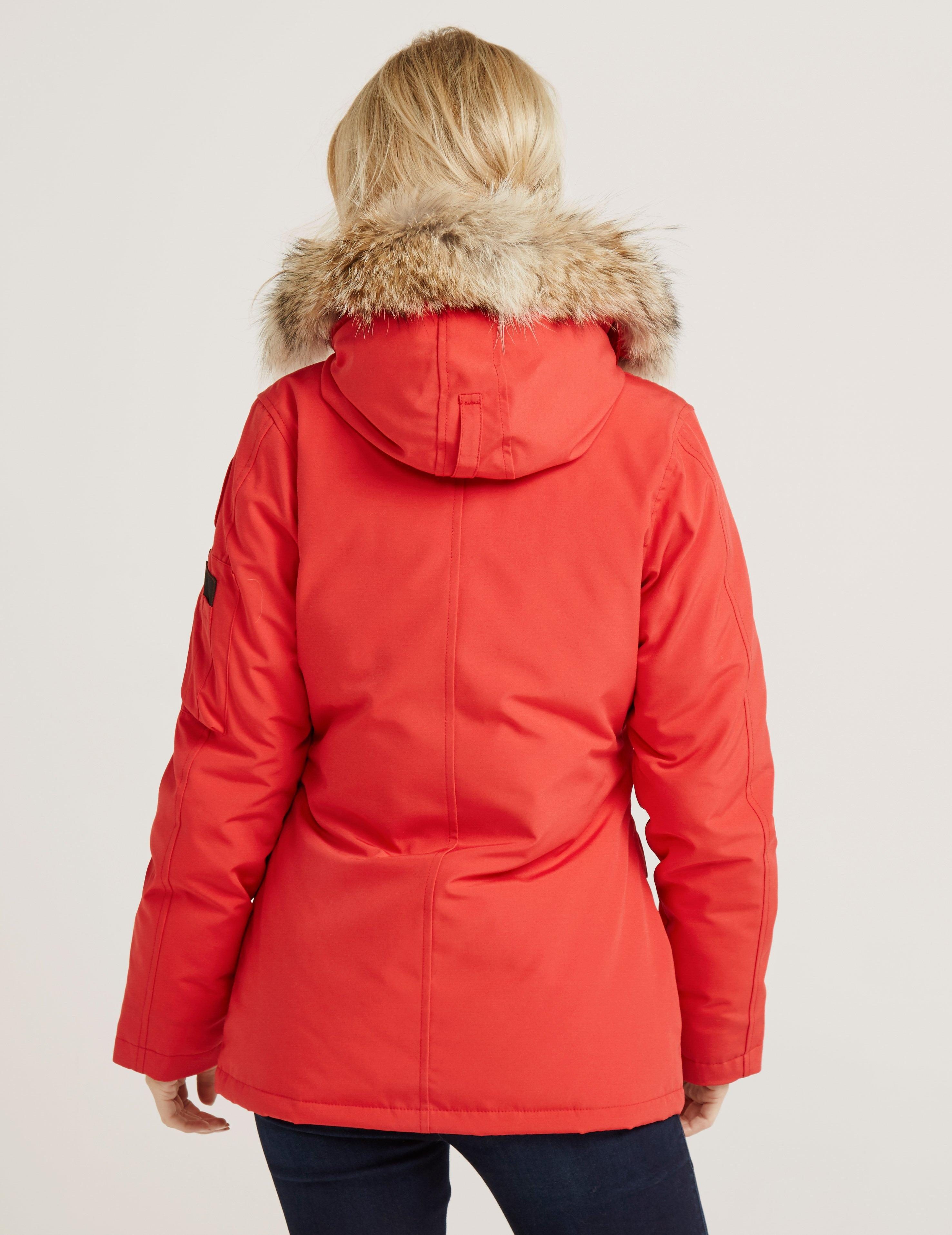 canada goose montebello parka in red save 3 4035656401944863 lyst rh lyst ca
