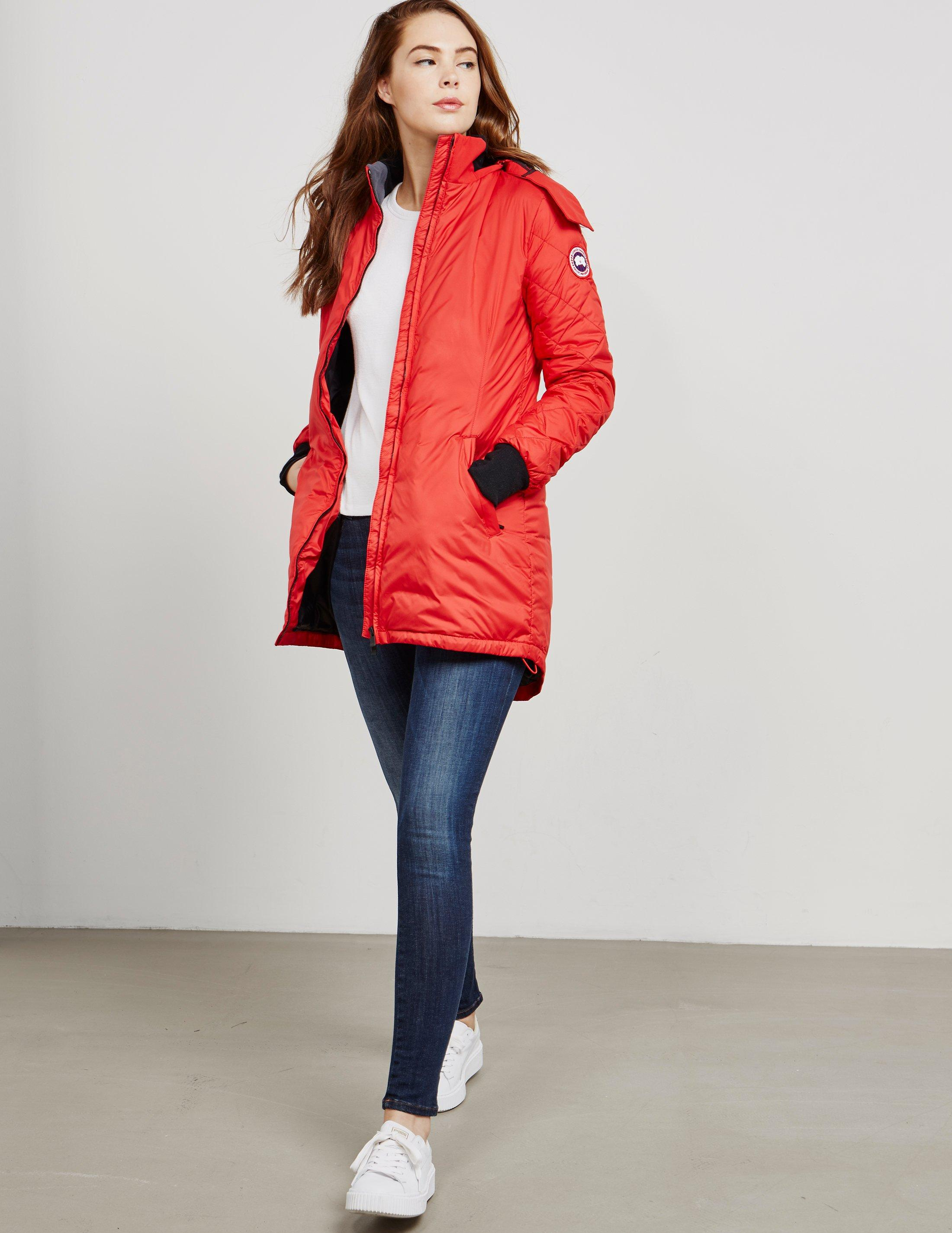 canada goose stellarton coat red