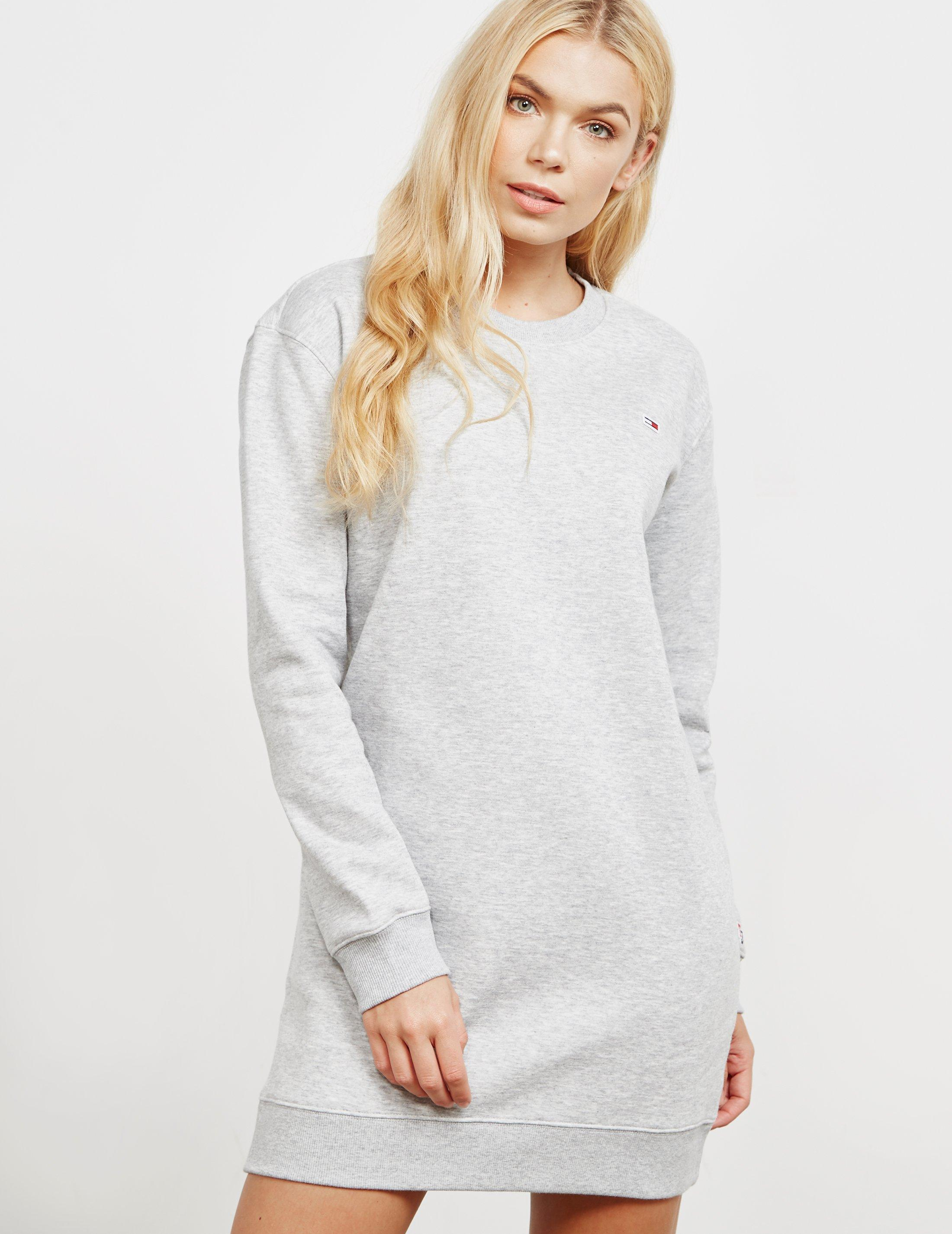 bc58ee5c00a Tommy Hilfiger Womens Classic Sweatshirt Dress - Online Exclusive ...