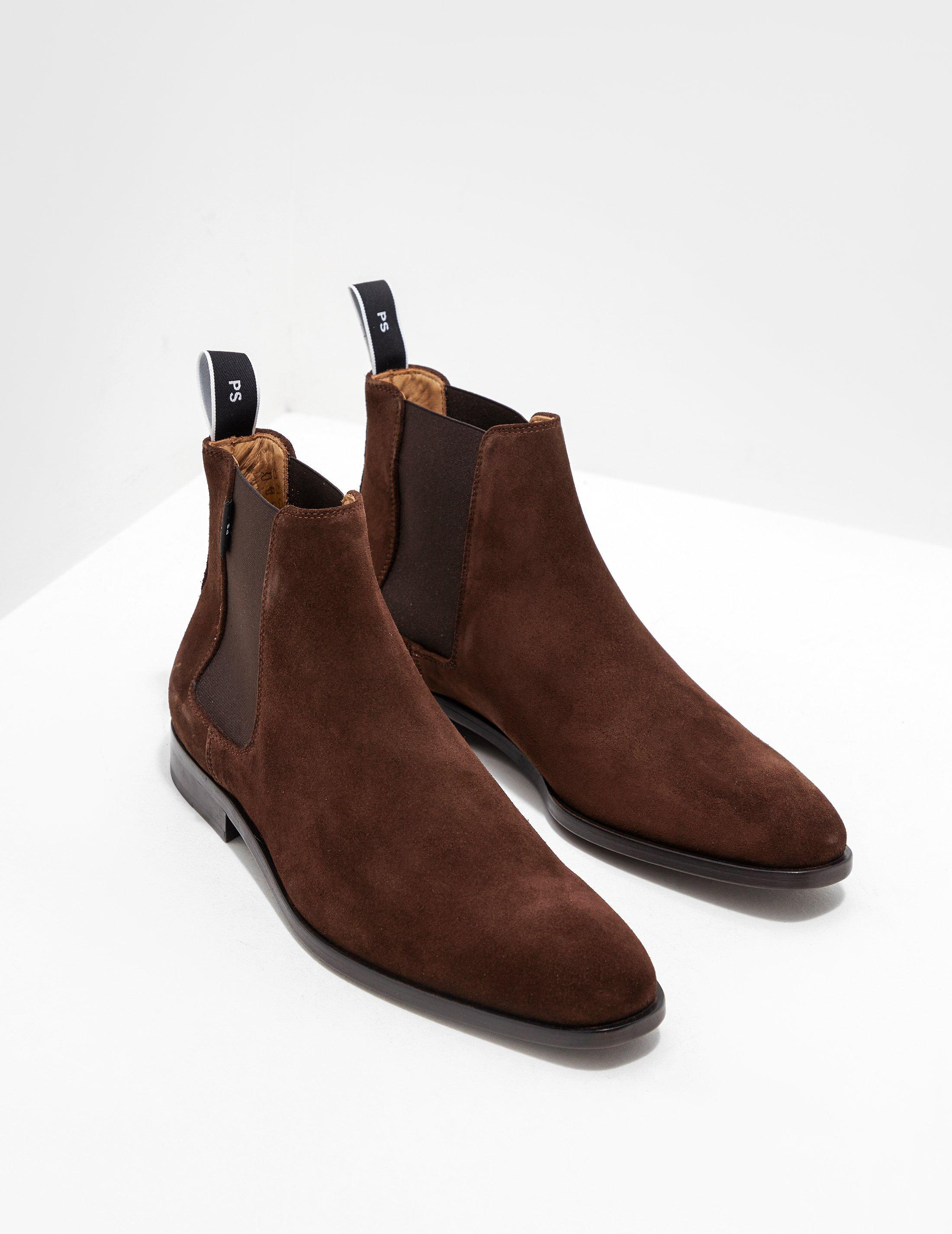 cf938f33ca8 Lyst - PS by Paul Smith Mens Gerald Chelsea Boots Brown in Brown for Men