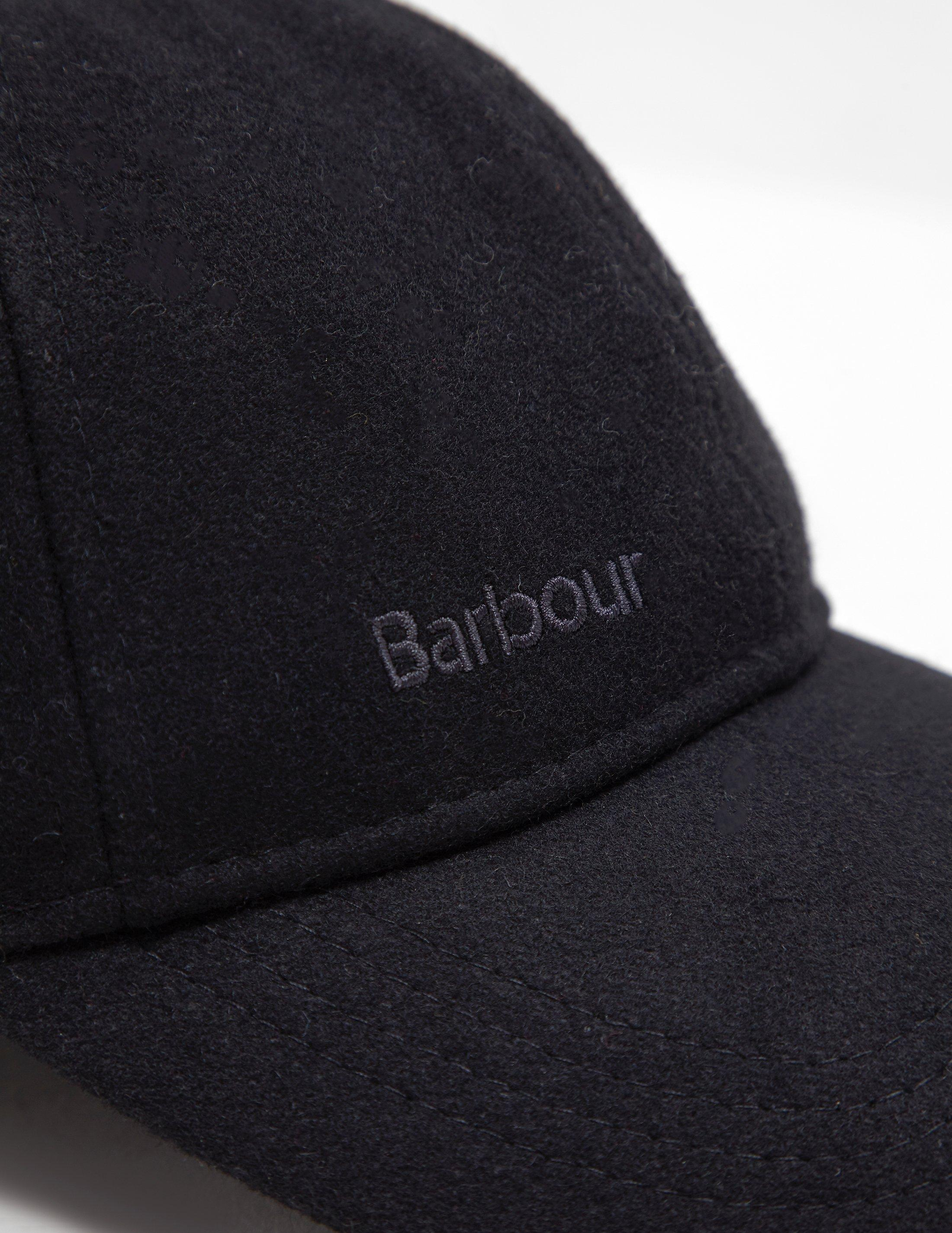 Barbour Mens Coopwortth Cap - Online Exclusive Black in Black for Men - Lyst a971010c96eb