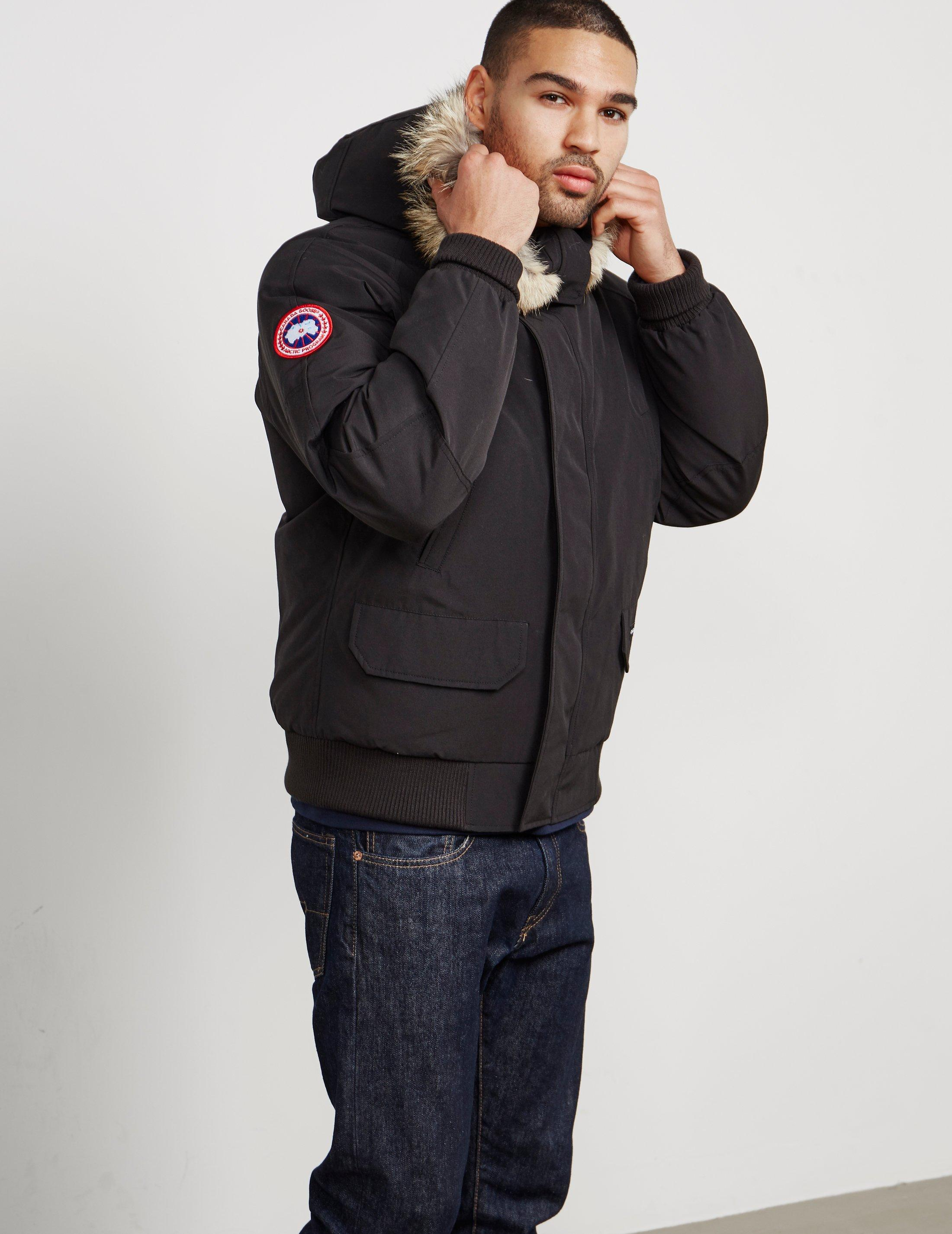 Lyst Lyst Men Bomber Black For Chilliwack In Canada Goose