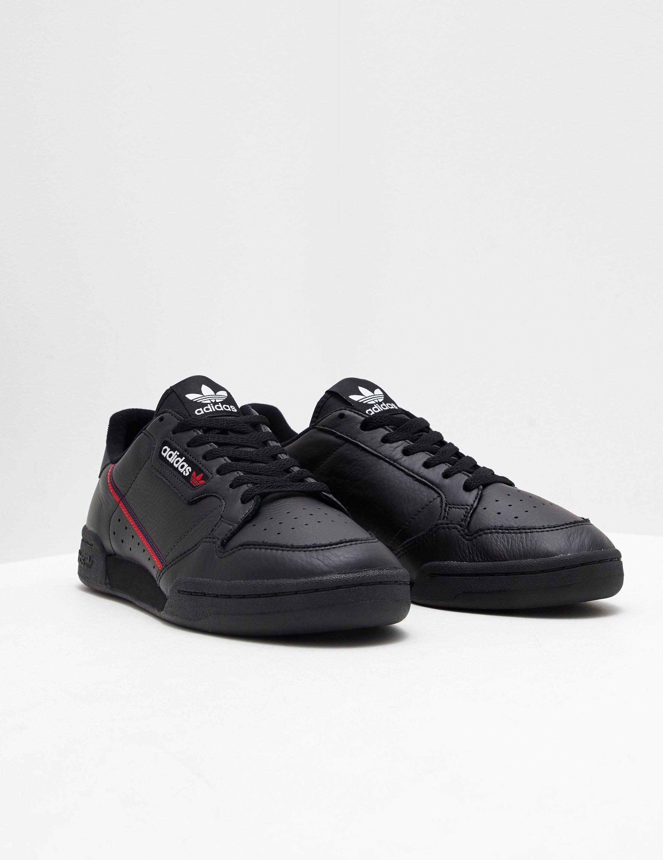 44ee0de48a adidas Originals Continental 80 Black in Black for Men - Save 21% - Lyst