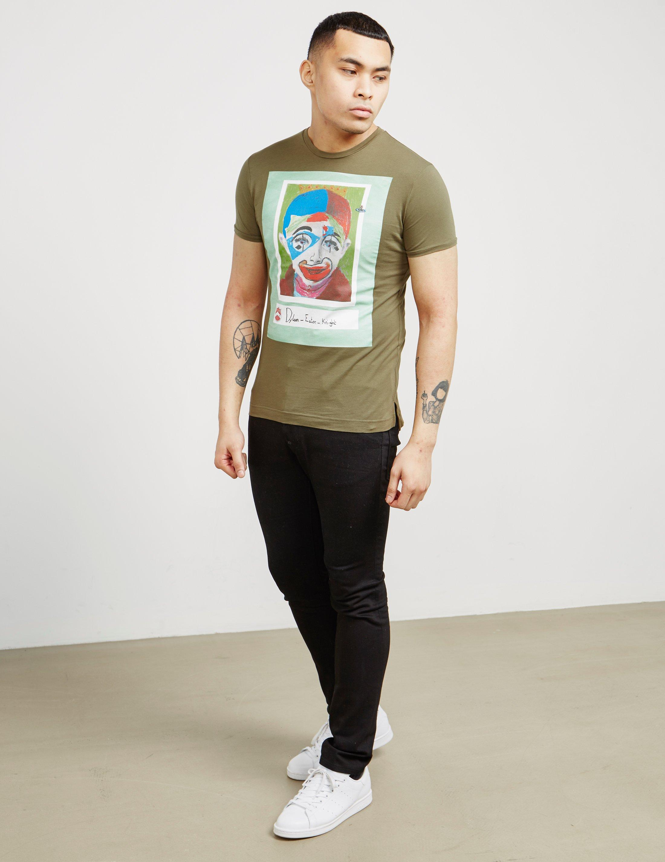 8acca27b0a9236 Lyst - Vivienne Westwood Mens Dylan Short Sleeve T-shirt Green in ...