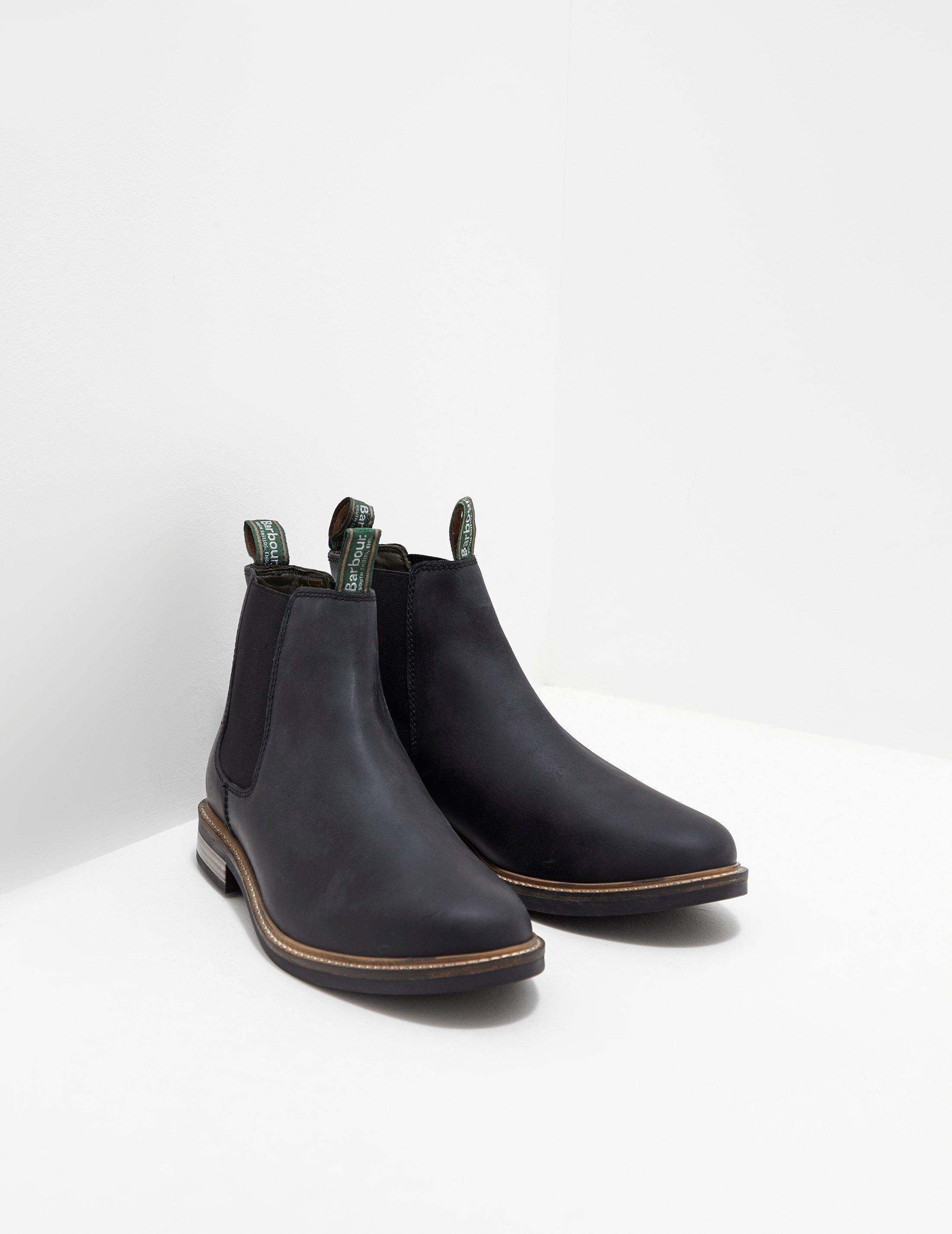 dbaadd249f5 Lyst - Barbour Farsley Boot Black in Black for Men