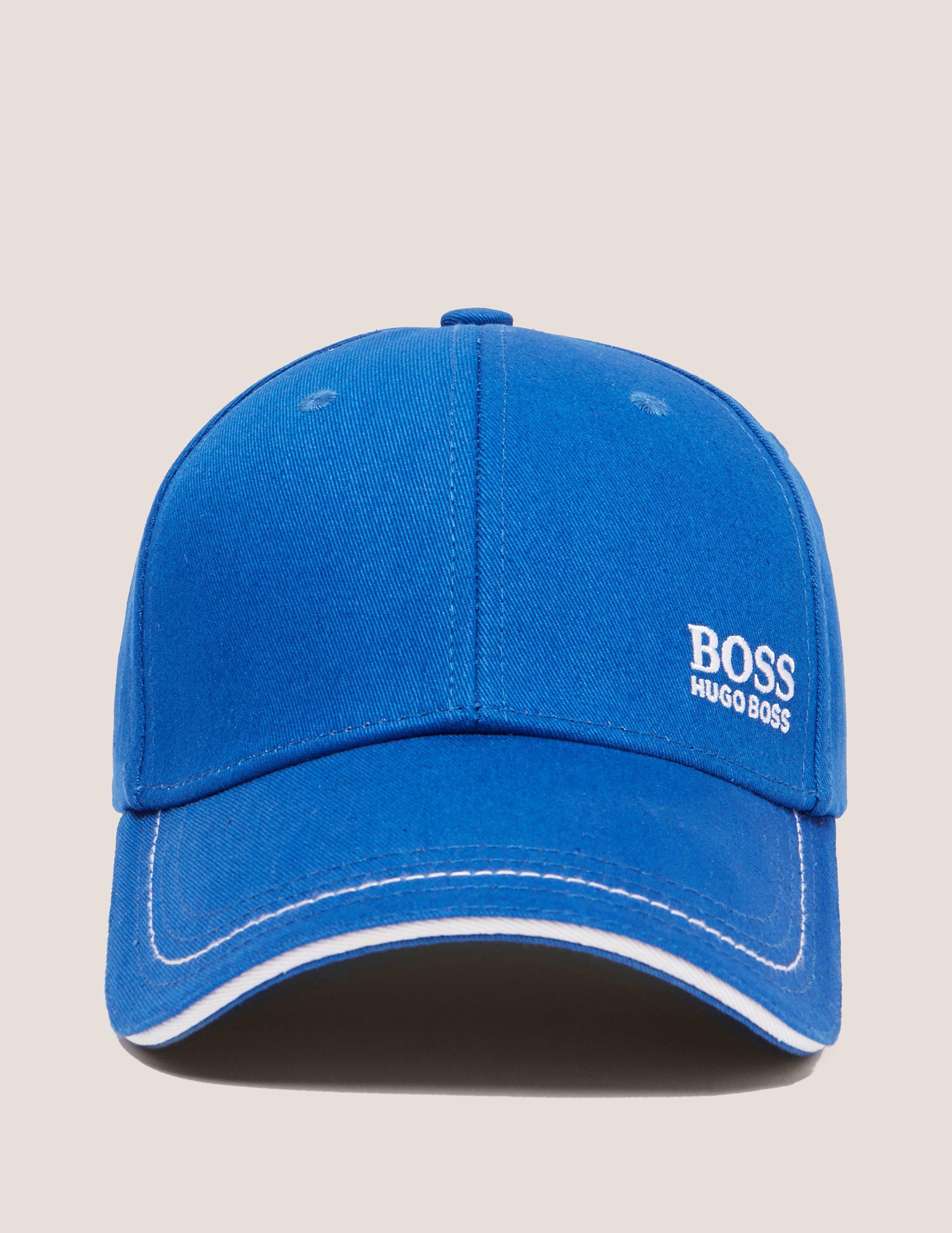 fe6826130db Lyst - Boss Green Logo Cap in Blue for Men