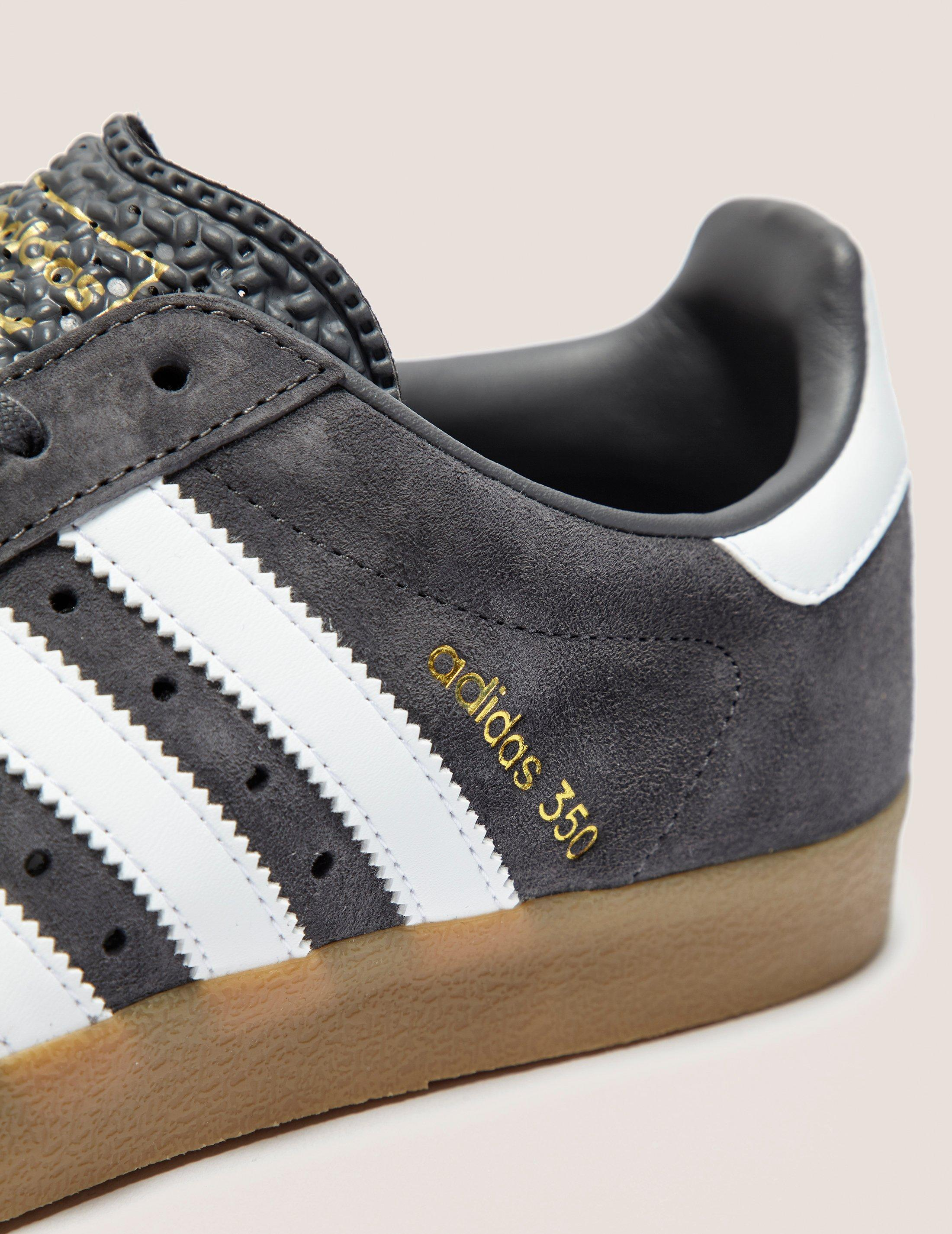 hot sale online a5dca bf82a adidas Originals Mens 350 Greywhite in Gray for Men - Lyst