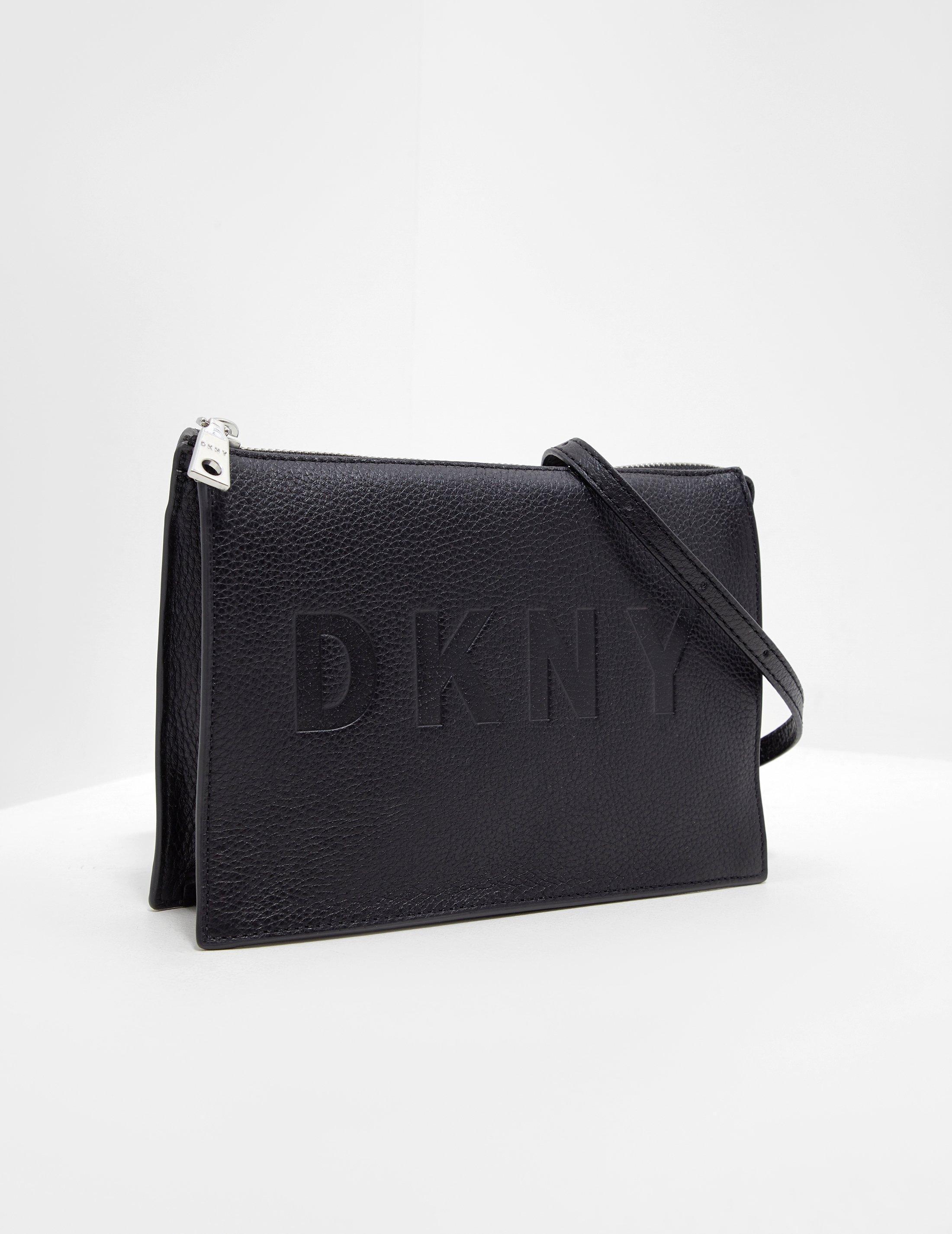 fe39d9ce575f DKNY Commuter Shoulder Bag Black in Black - Lyst
