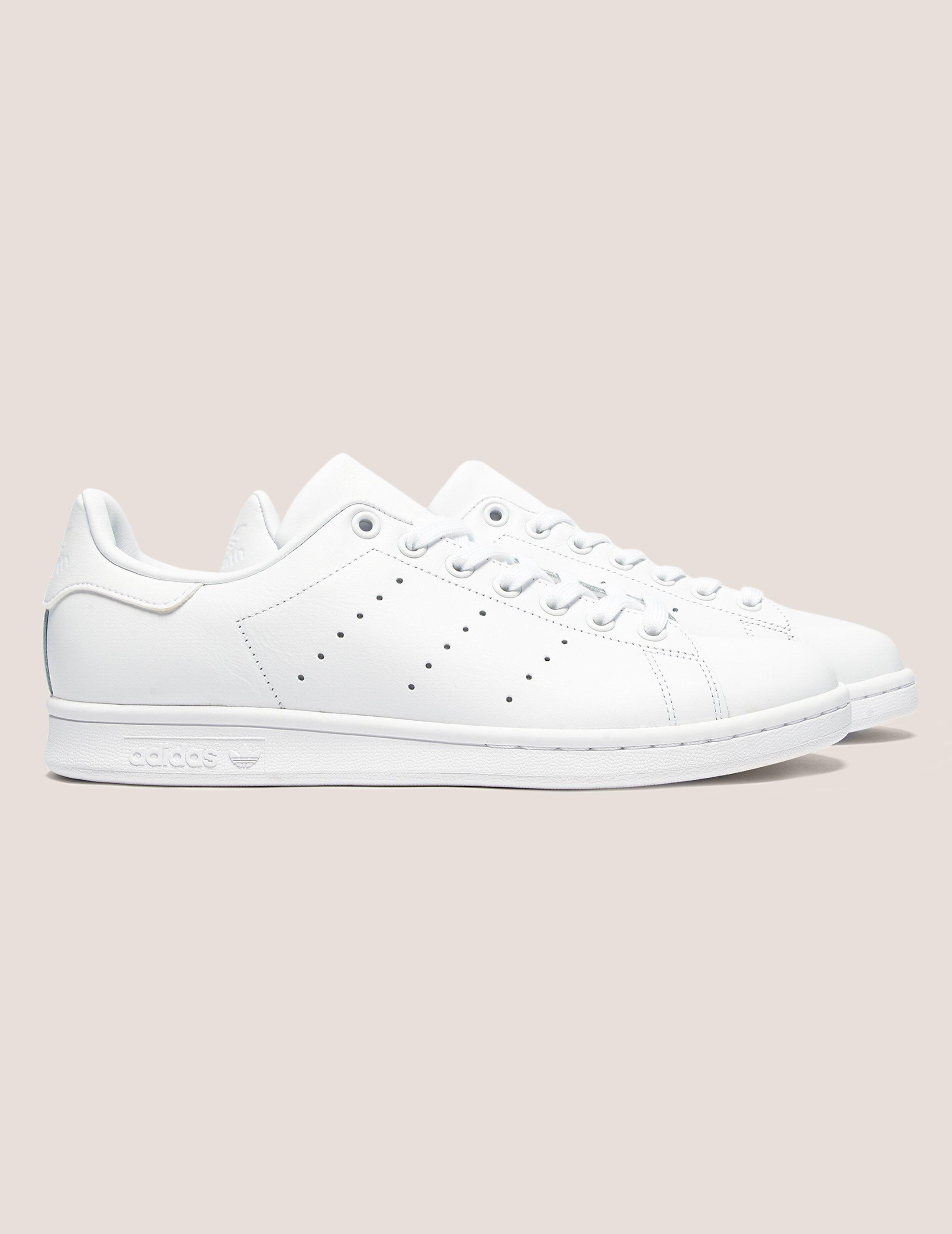 lyst adidas originali mens stan smith white in bianco per salvare il 4% uomini