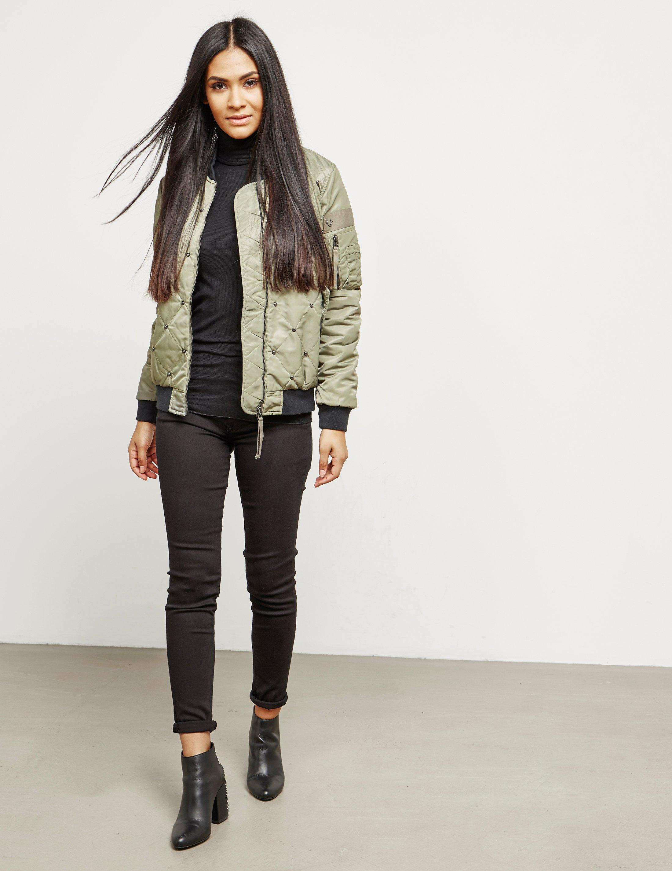 a898c437320c true-religion-Green-Womens-Chalk-Quilted-Bomber-Jacket-Green.jpeg