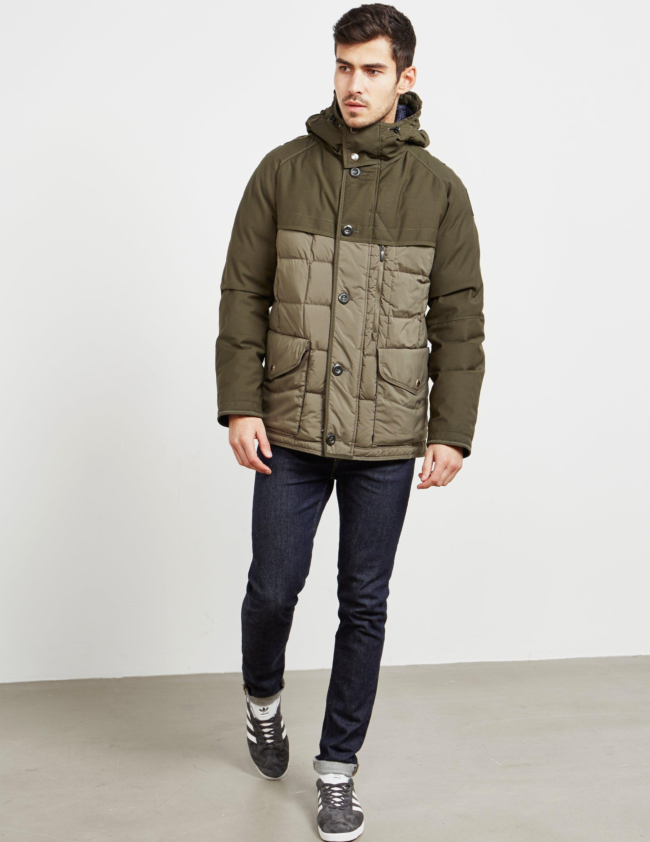 90e9d1c3bfdb Parajumpers Freddy Heritage Parka Jacket Green in Green for Men - Lyst