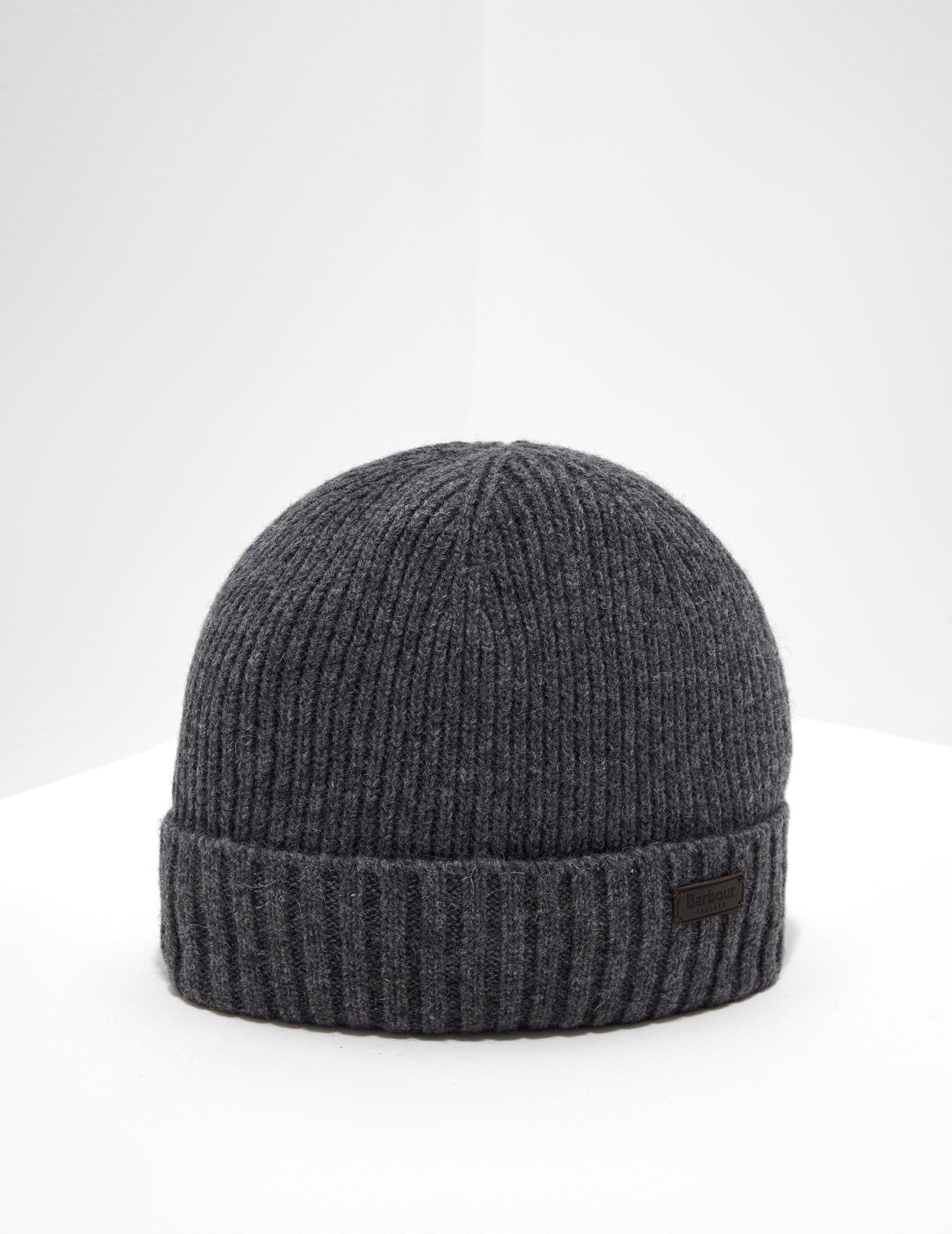 2f8ad4eb Barbour Calton Beanie Grey in Gray for Men - Lyst
