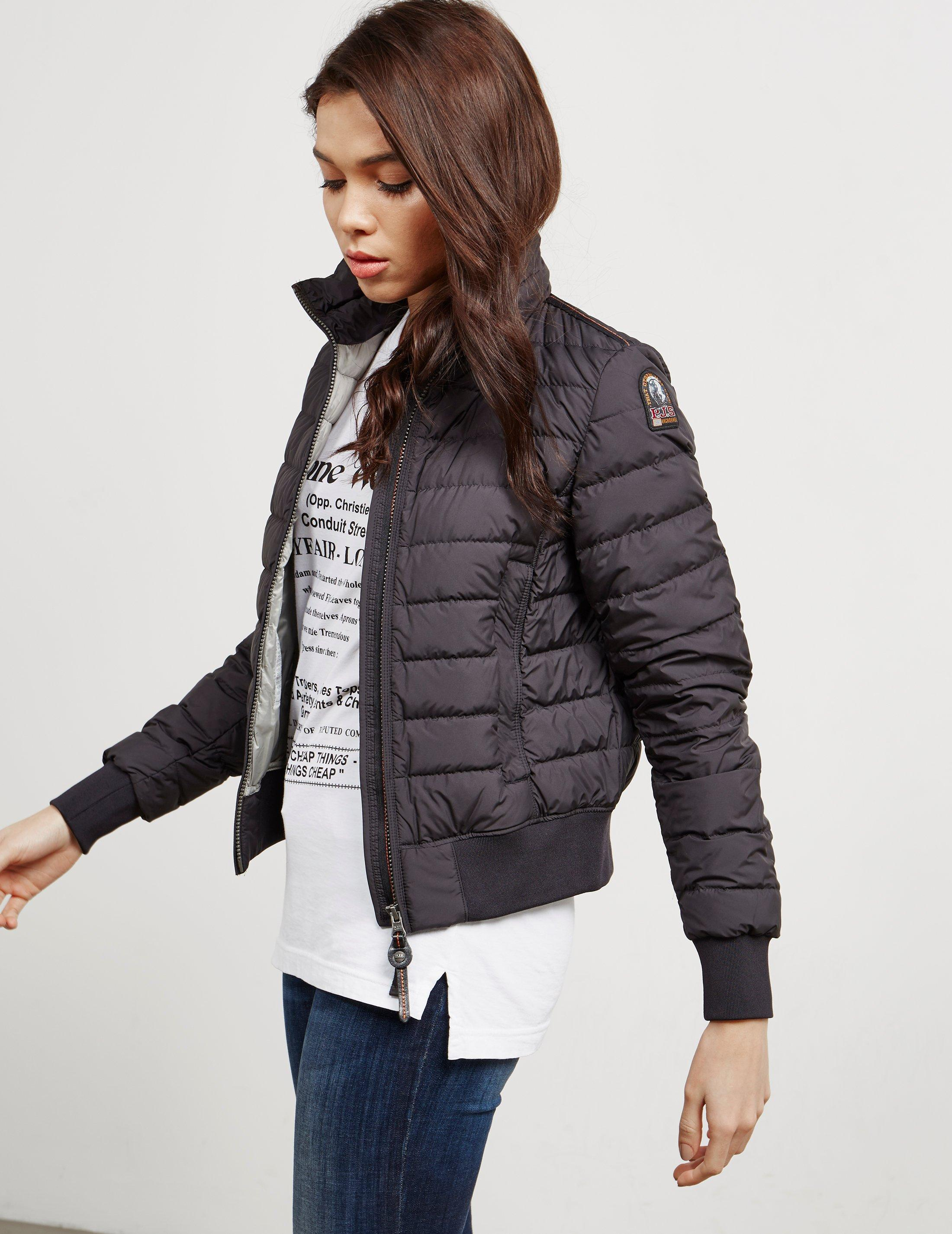Parajumpers. Womens Amy Bomber Jacket Black