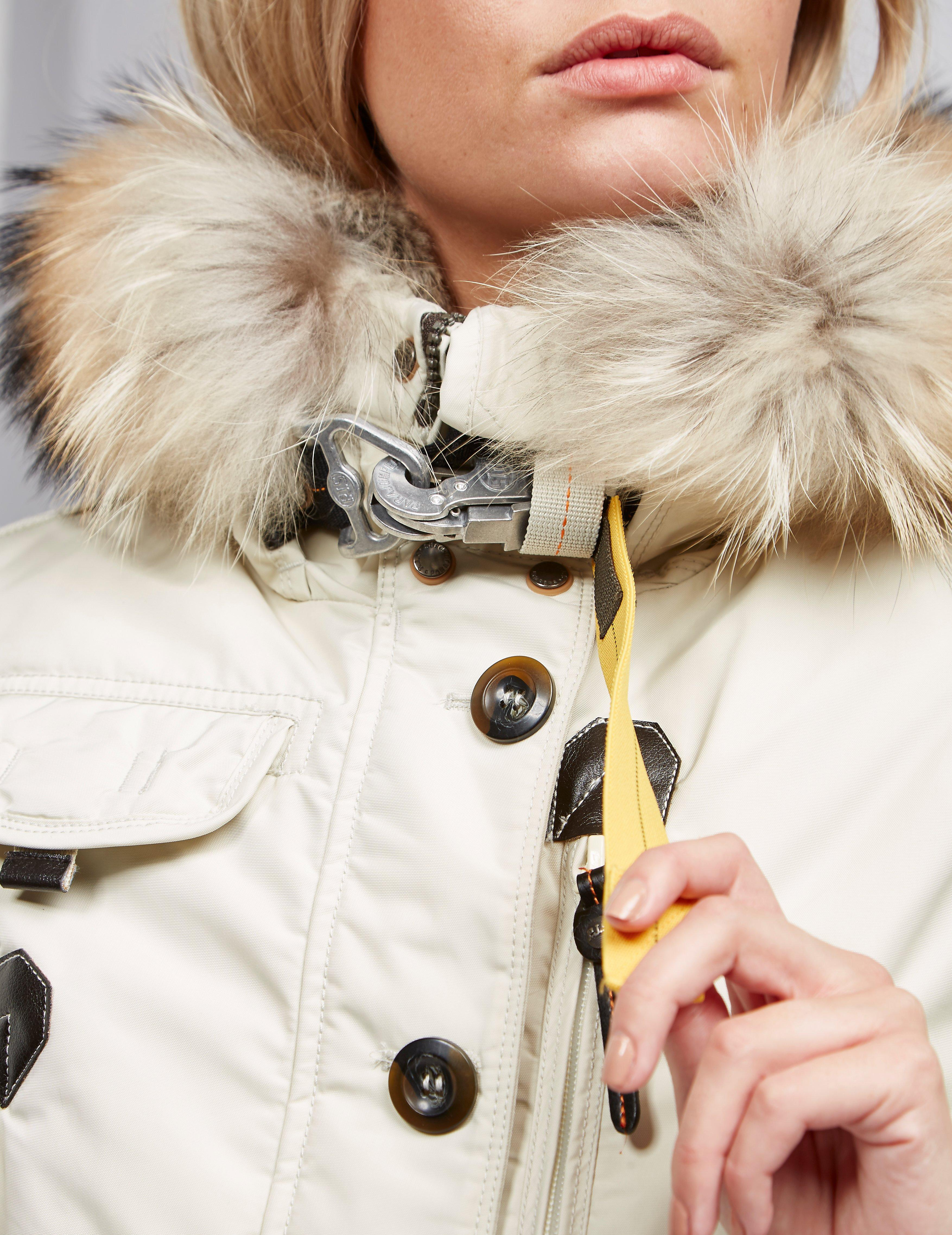 Parajumpers - Womens Doris Padded Parka Jacket White - Lyst. View fullscreen