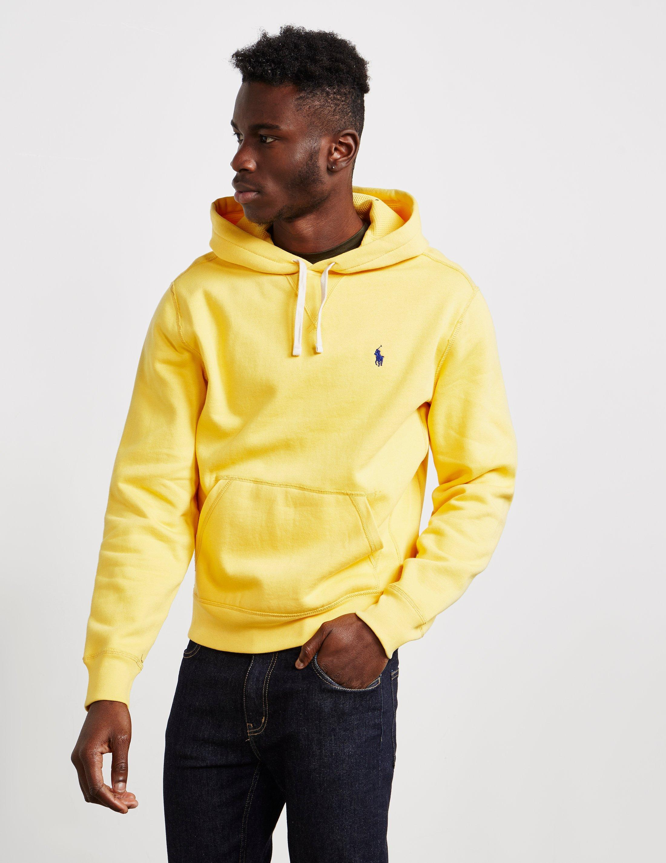 7db199016 Polo Ralph Lauren Athletic Overhead Hoodie Yellow in Yellow for Men ...