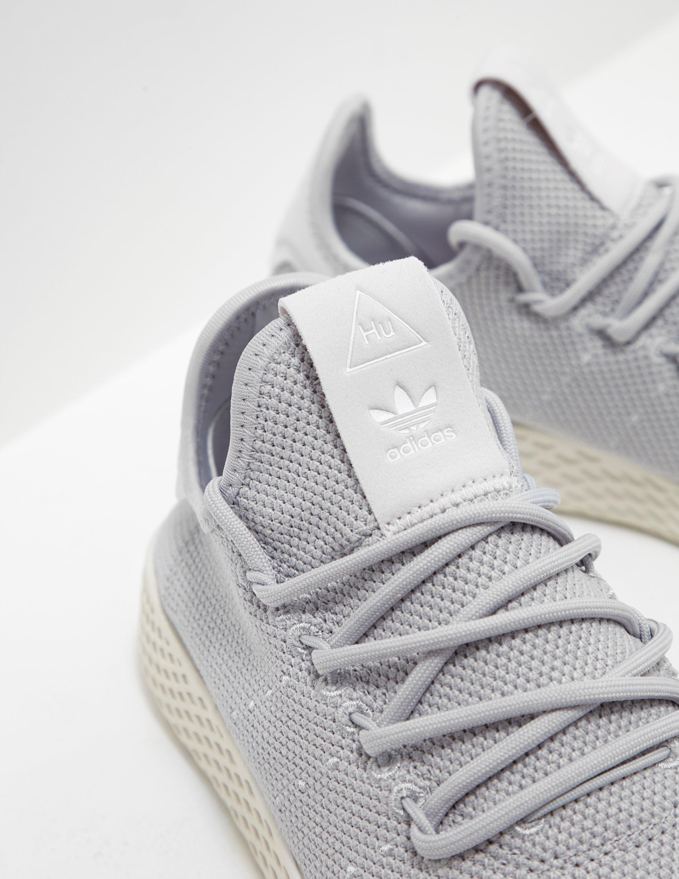 bdbb4c862fc Lyst - adidas Originals Womens Pharrell Williams Tennis Hu Trainers ...