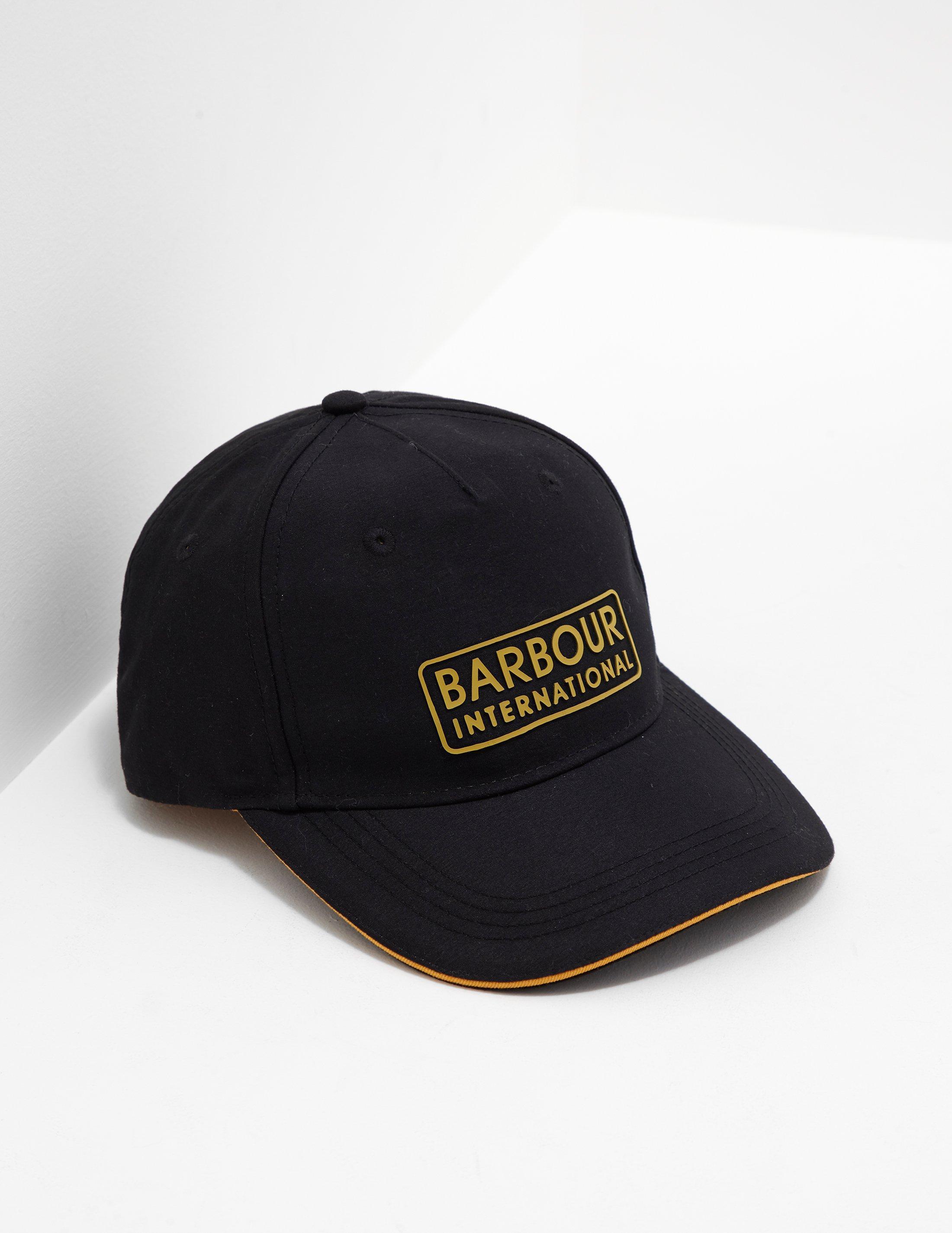81751babad5 Barbour - Mens International Hudson Sports Cap Black for Men - Lyst. View  fullscreen