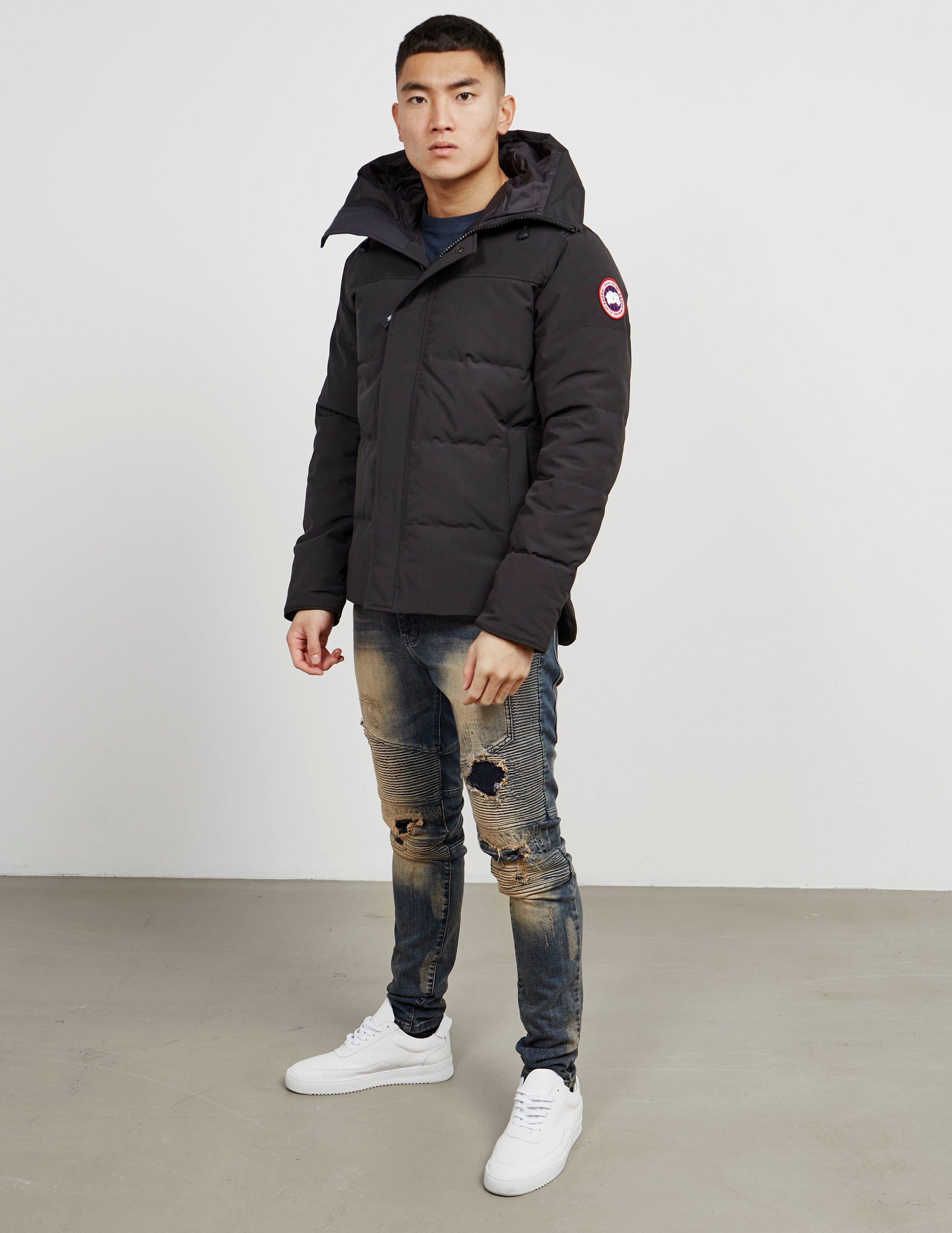 7c6094dad08c Canada Goose Macmillan Padded Parka Jacket Black in Black for Men - Save  20% - Lyst