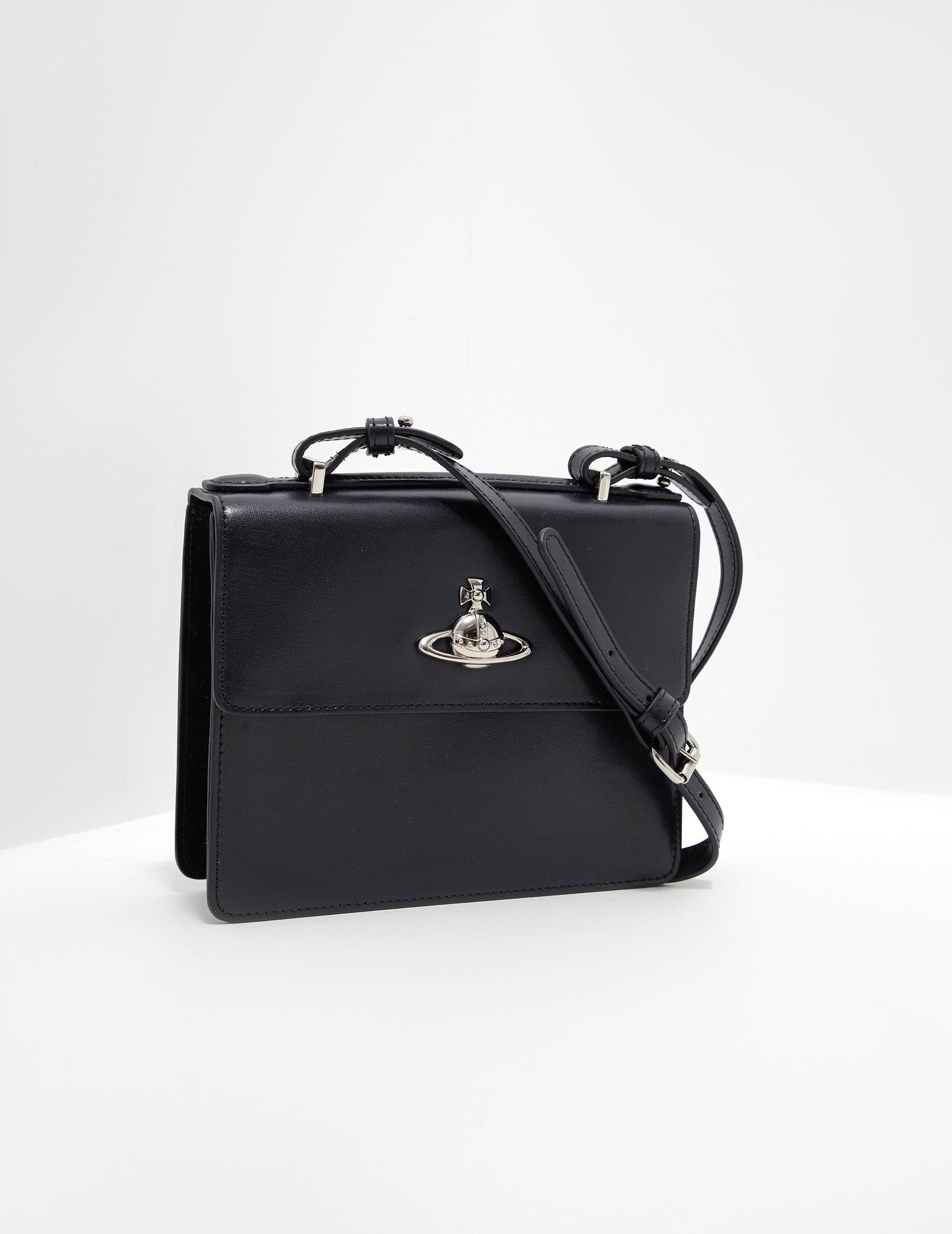 Vivienne Westwood Womens Matilda Shoulder Bag Black in Black - Lyst 55f14d43b5af3