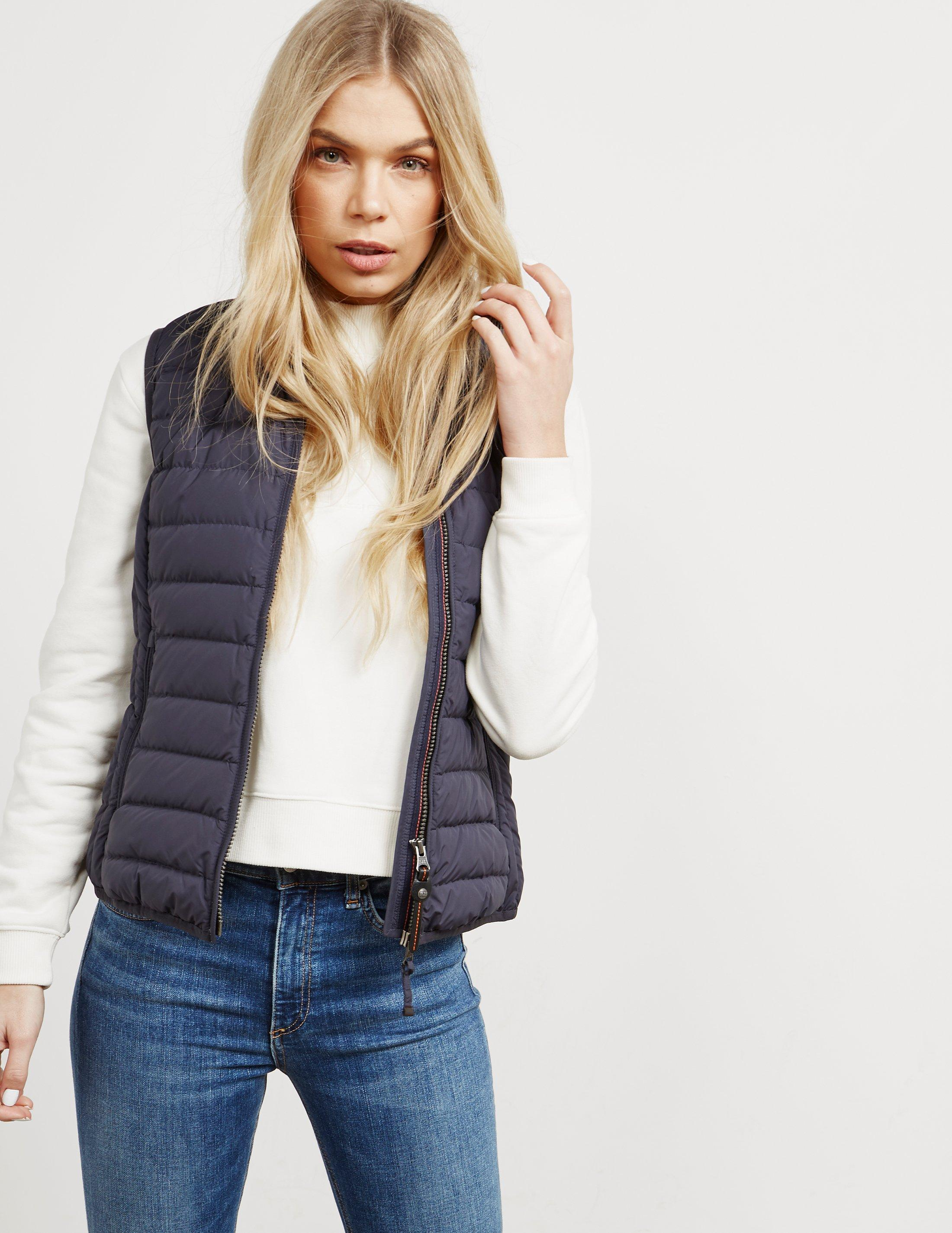Parajumpers. Womens Dodie Gilet Black