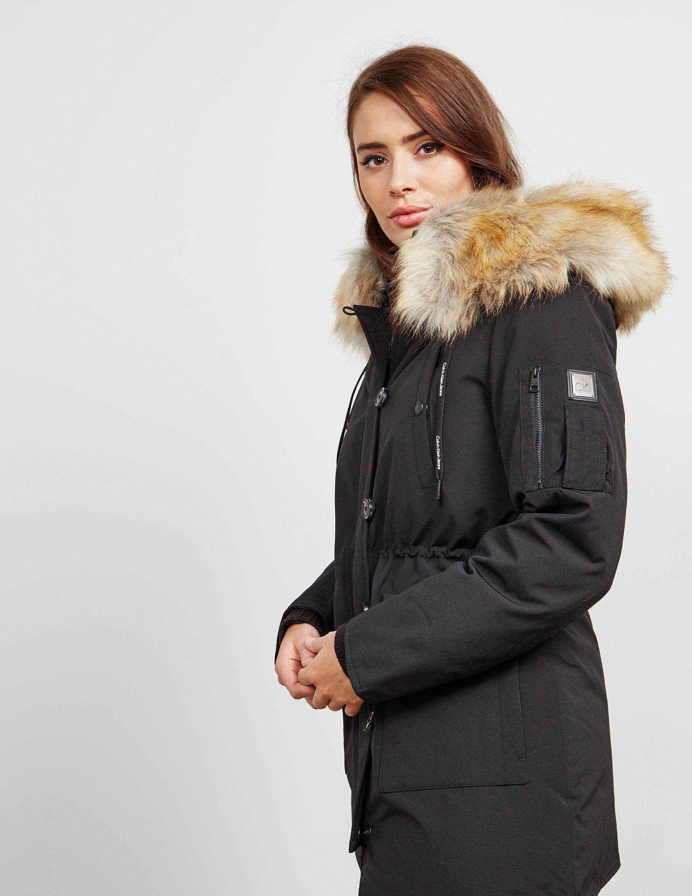 7a45c1adcfd1 Calvin Klein Womens Olivia Padded Parka - Online Exclusive Black in ...