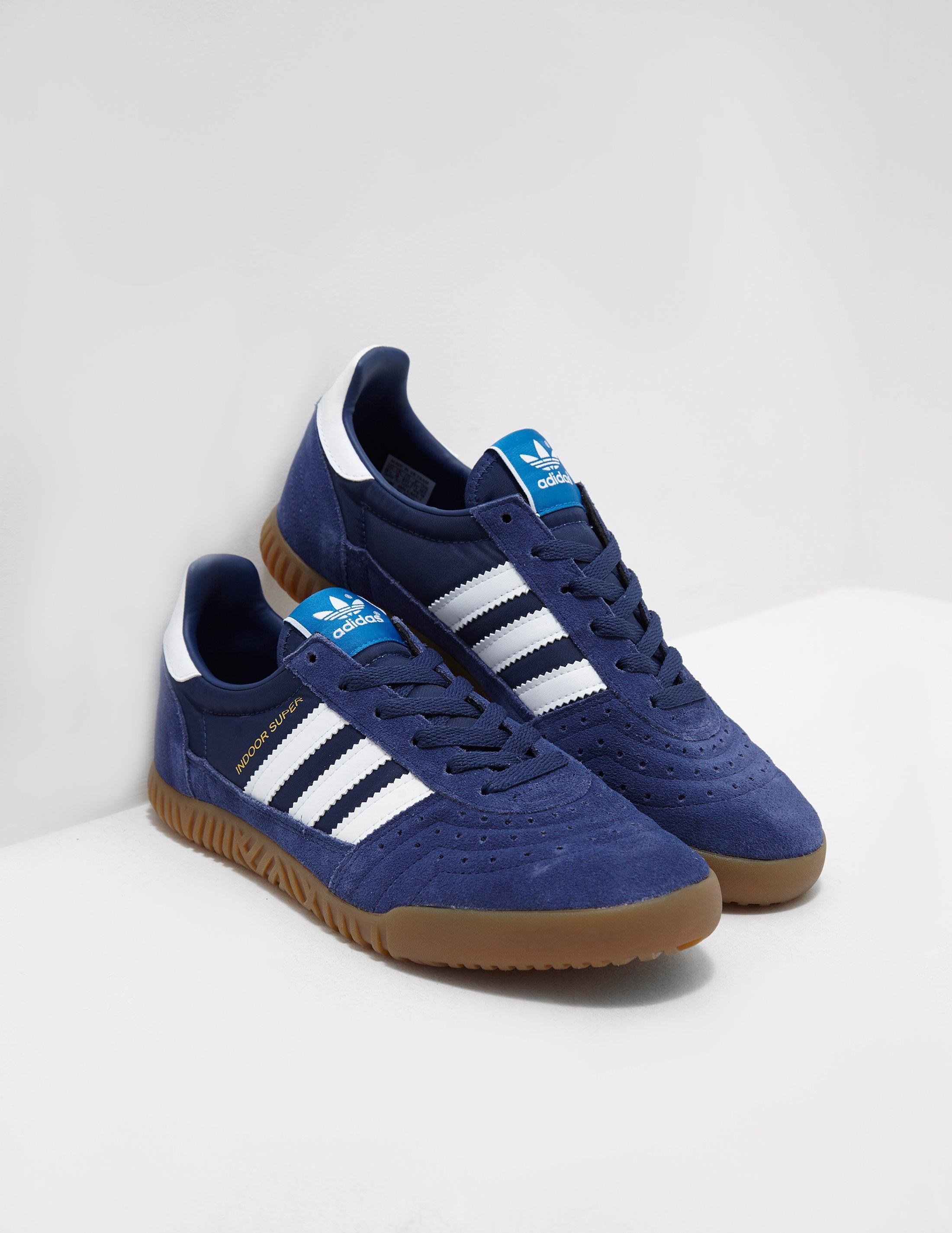 8d420d7ef Lyst - Adidas Originals Mens Indoor Super Blue in Blue for Men
