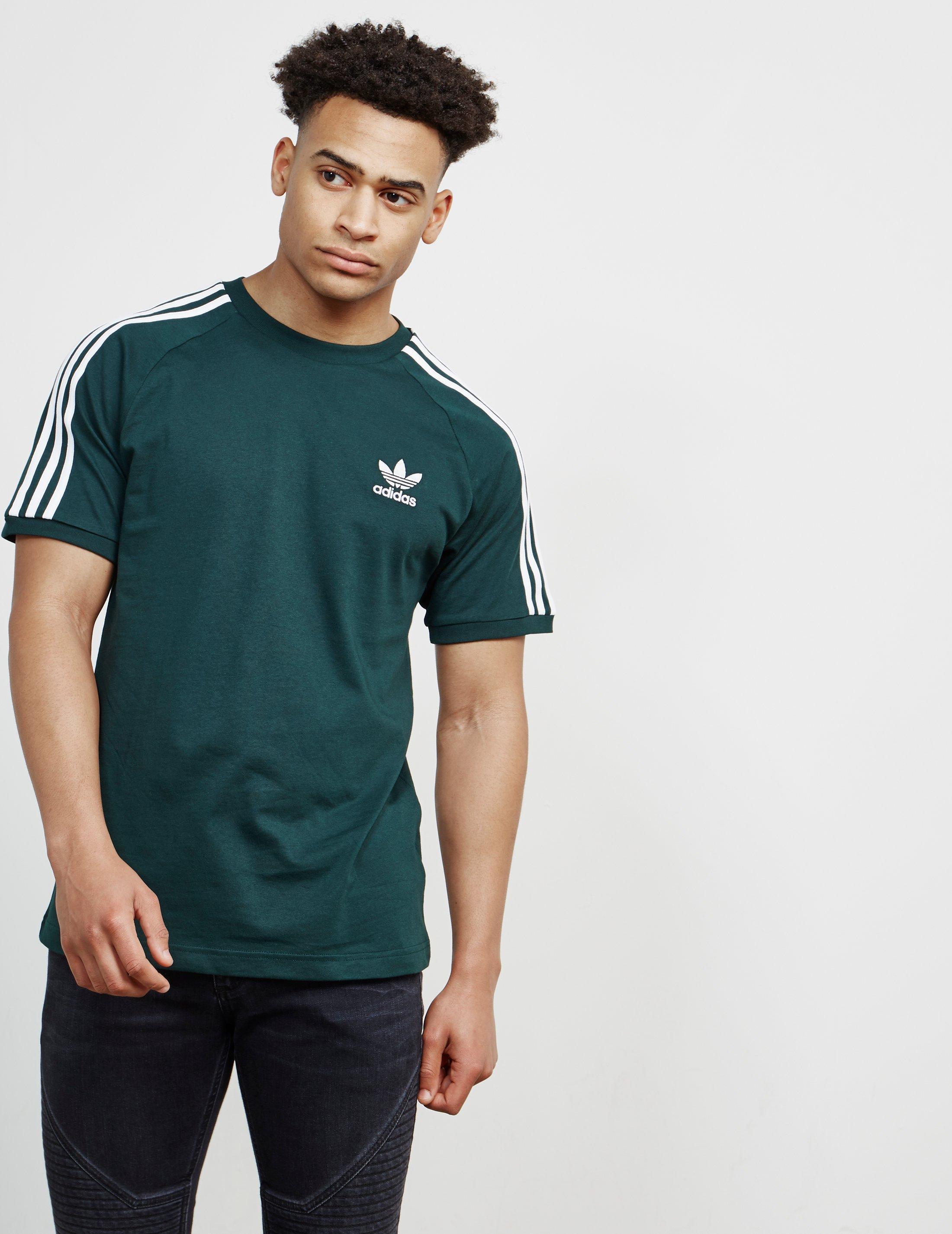 07be9ceef67 Adidas Originals 3 Stripe Trefoil Retro T Shirt - BCD Tofu House