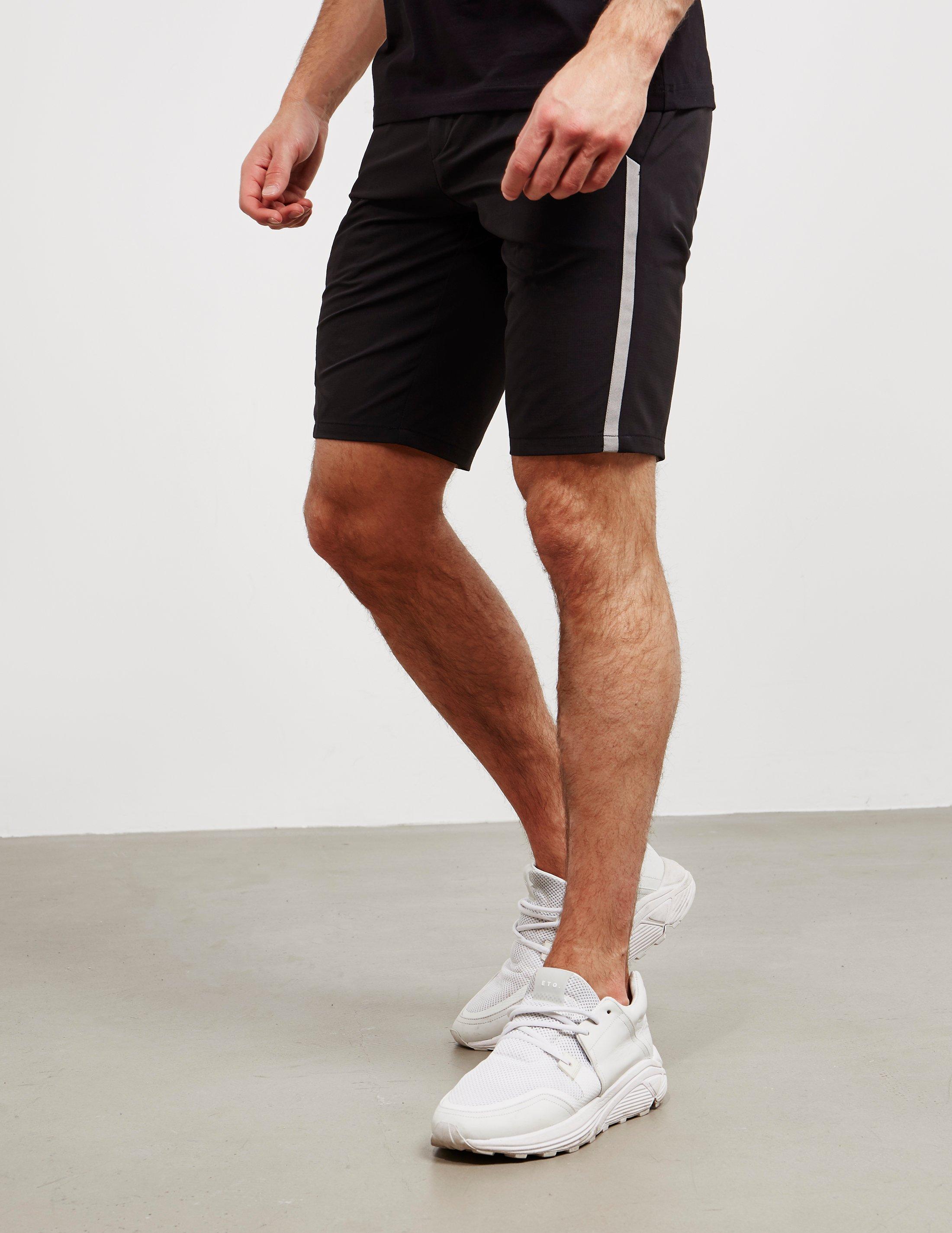 8d20be9eb BOSS Mens Hapros Shorts Black in Black for Men - Lyst