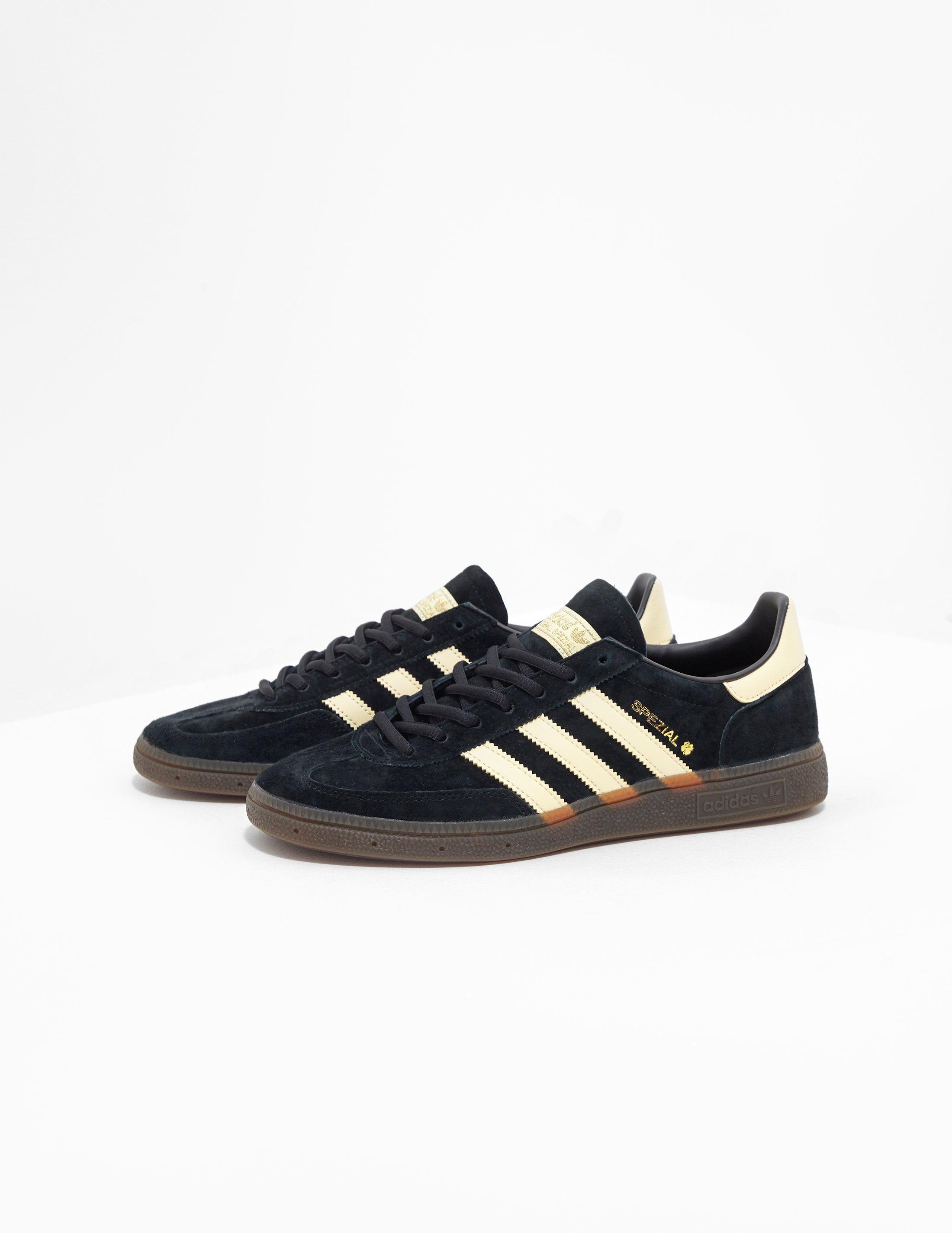 reputable site 8c2cc 5c6be adidas Originals Handball Spezial Black in Black for Men - Lyst