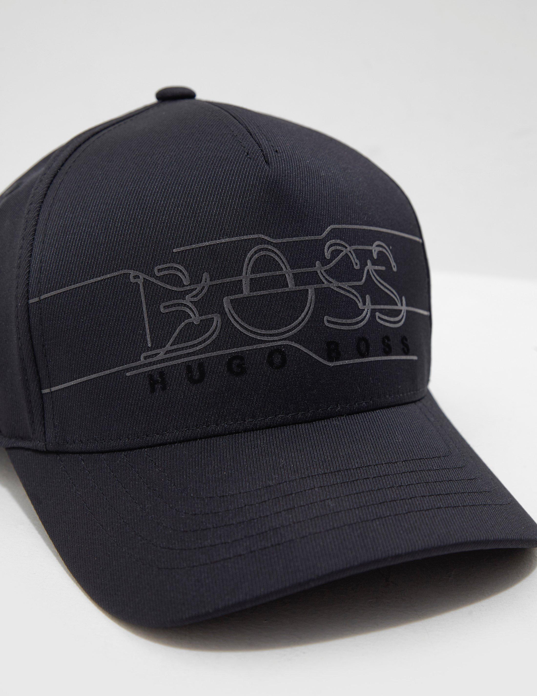Boss Mens Reflective Logo Cap Black in Black for Men - Lyst 6c220ab051b9