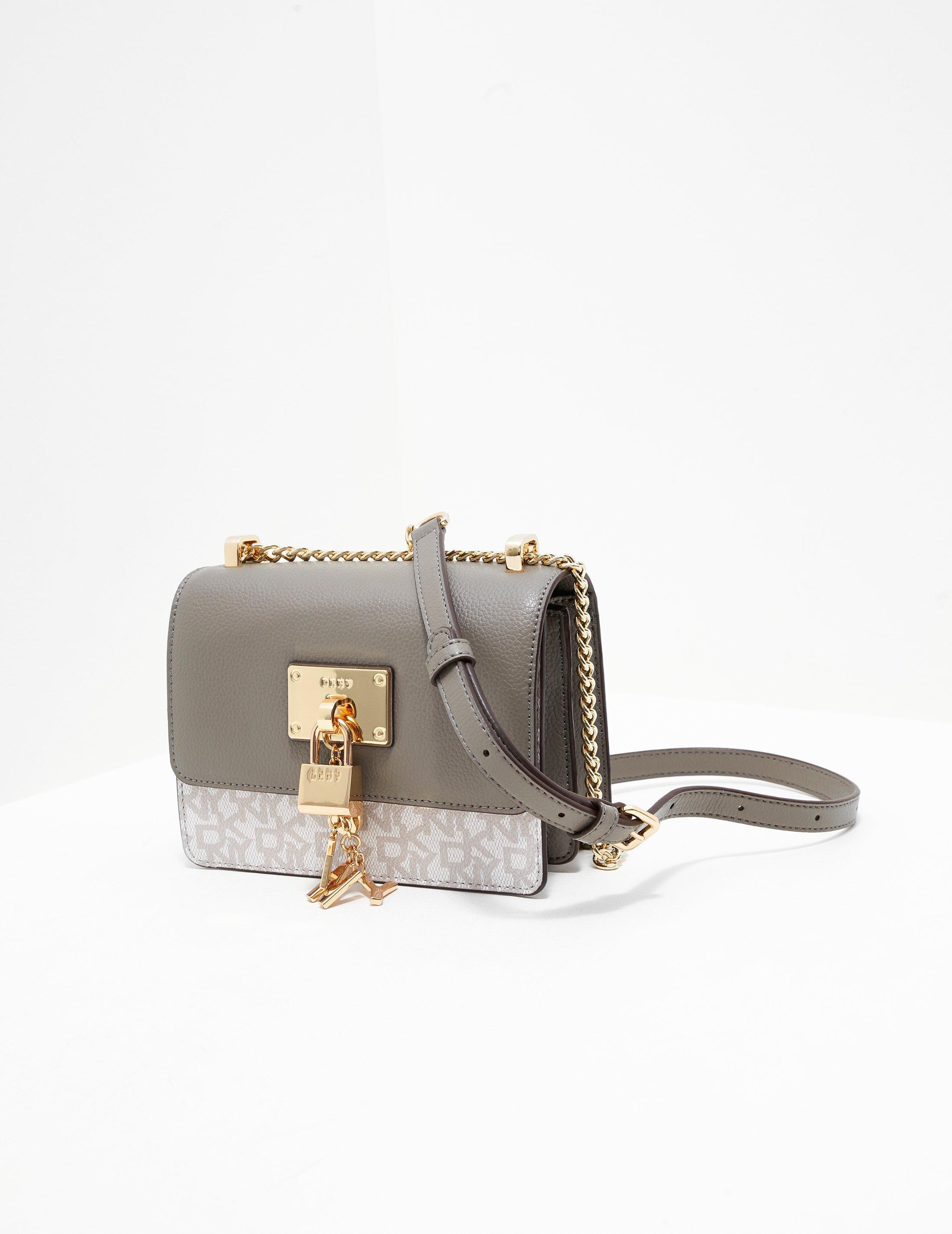 003323e51103 Lyst - DKNY Womens Elsa Print Crossbody Bag - Online Exclusive Grey ...