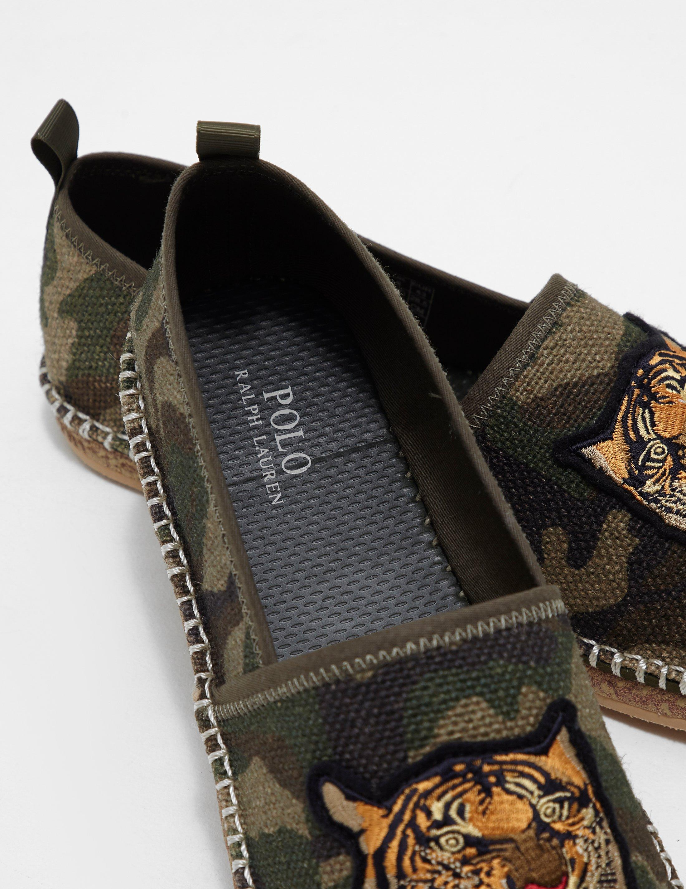 8cc74bf0d737 Polo Ralph Lauren Barron Shoes in Green for Men - Lyst