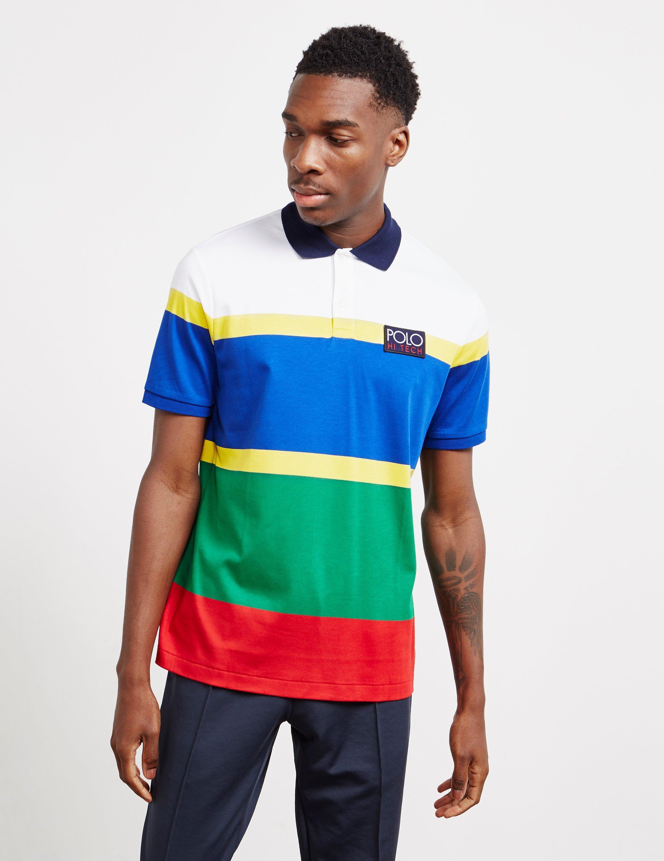 529cd7af73f89 Lyst - Polo Ralph Lauren Hi Tech Short Sleeve Polo Shirt White in ...