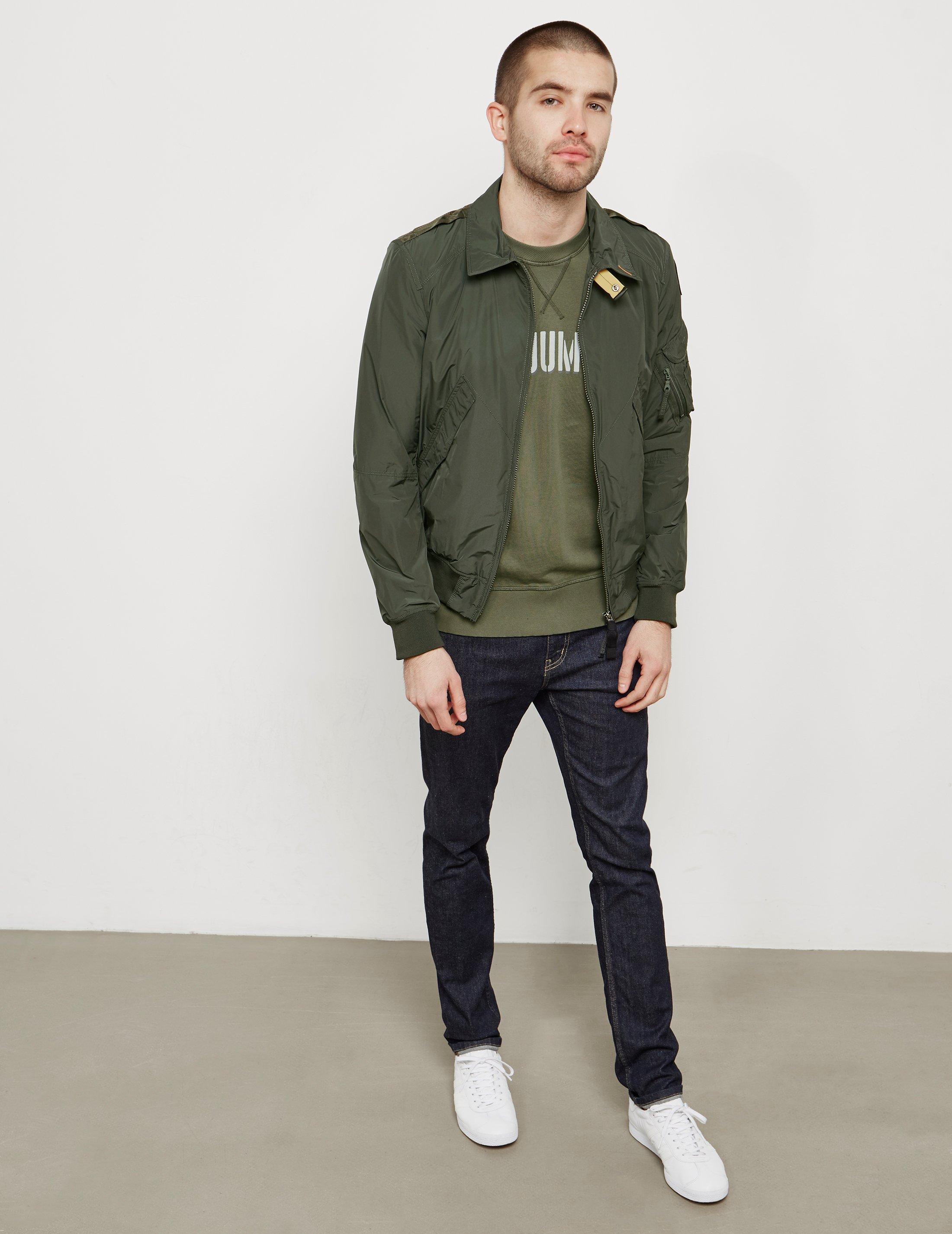 Lyst - Parajumpers Mens Brigadier Bomber Jacket Green in Green for Men - Save 5.140186915887853%