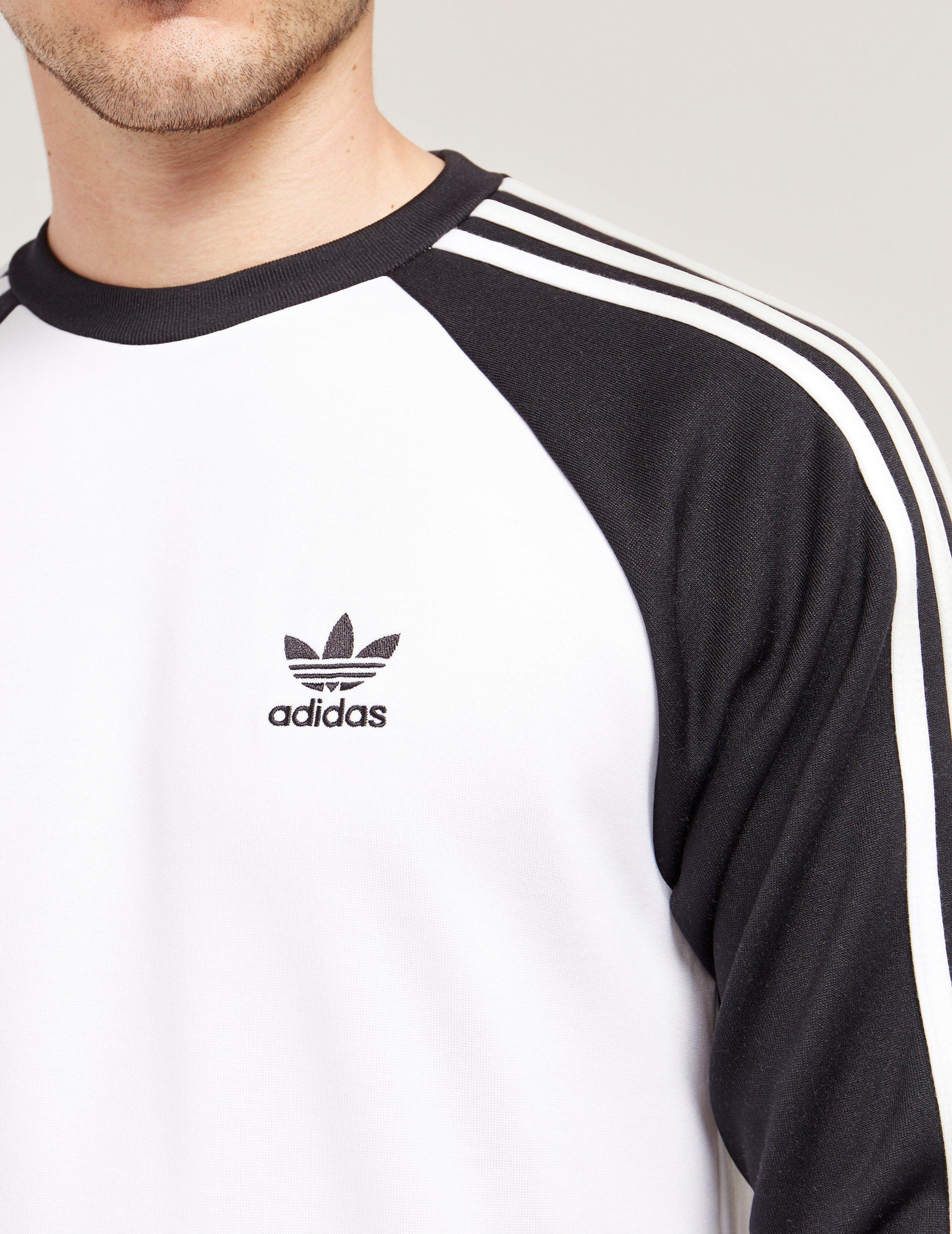 2a1f577172d0 Lyst - adidas Originals Superstar Sweatshirt in Black for Men