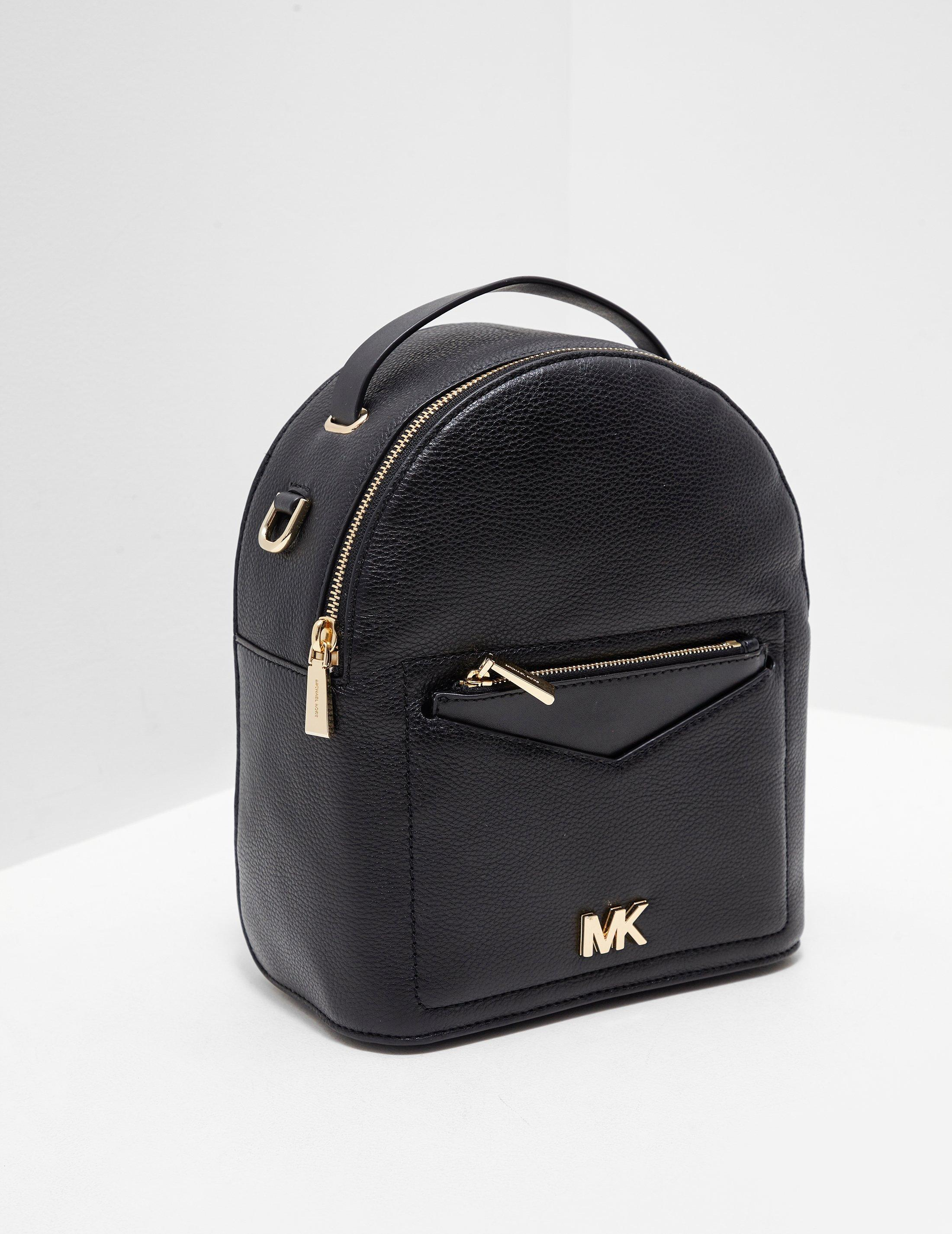 8828f4b3f598 Michael Kors Jessa Backpack Black in Black - Lyst