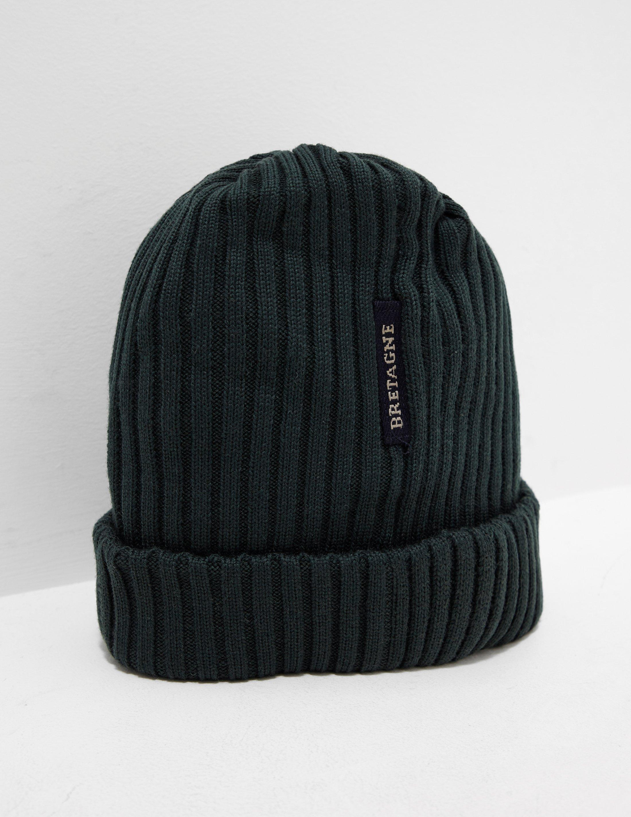 7545f47e Paul & Shark Ribbed Knitted Logo Beanie - Exclusively To Tessuti ...