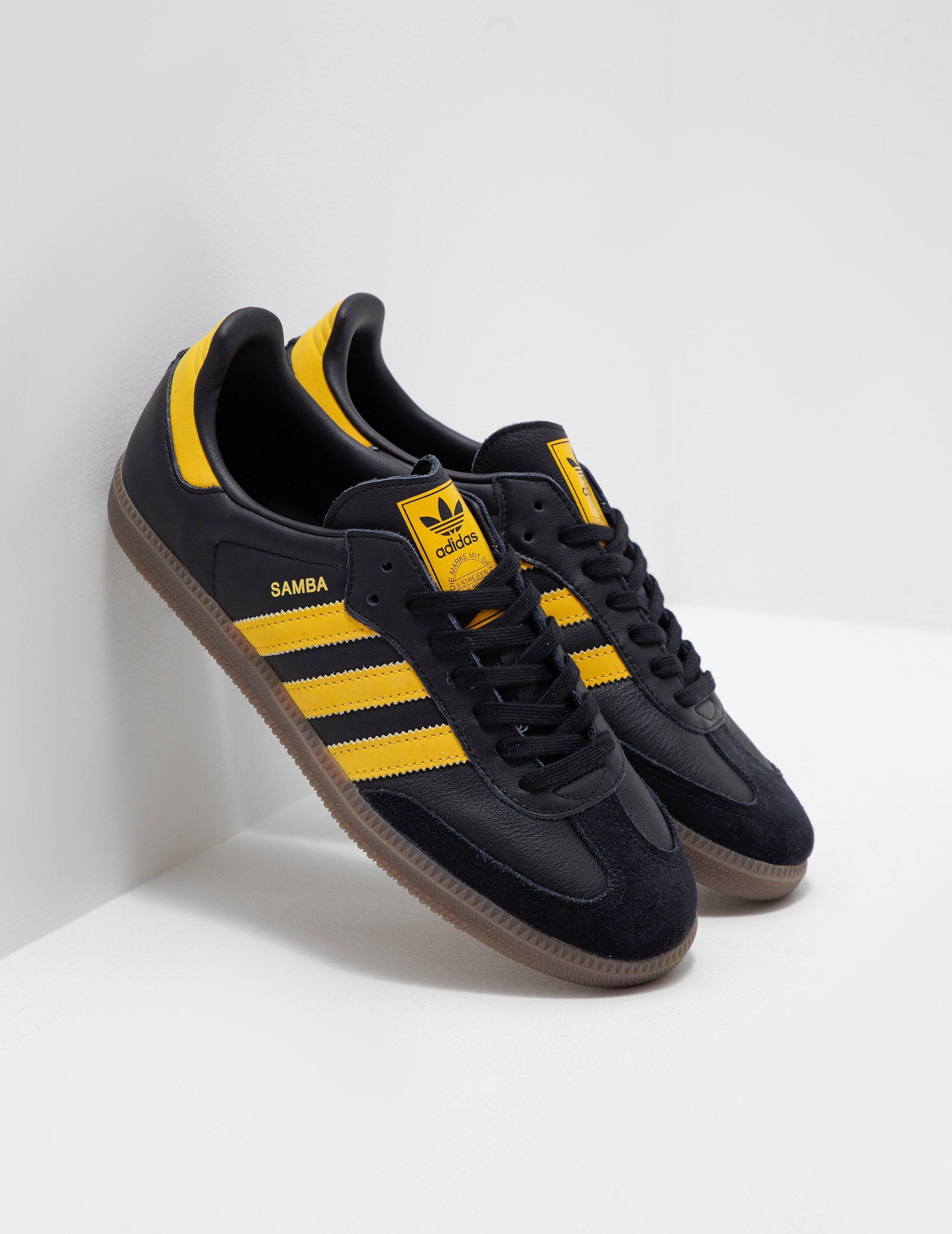 0aa903305 adidas Originals Mens Samba Og Black in Black for Men - Lyst