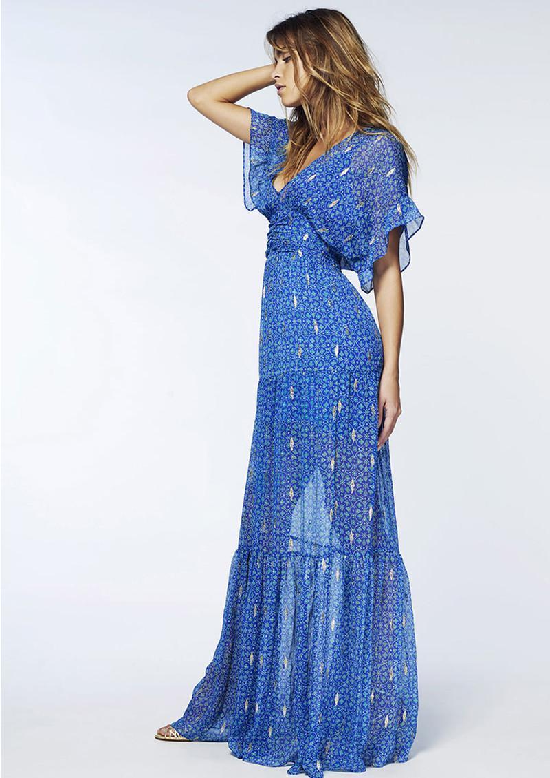 Lyst Ba Amp Sh Mela Maxi Dress In Blue