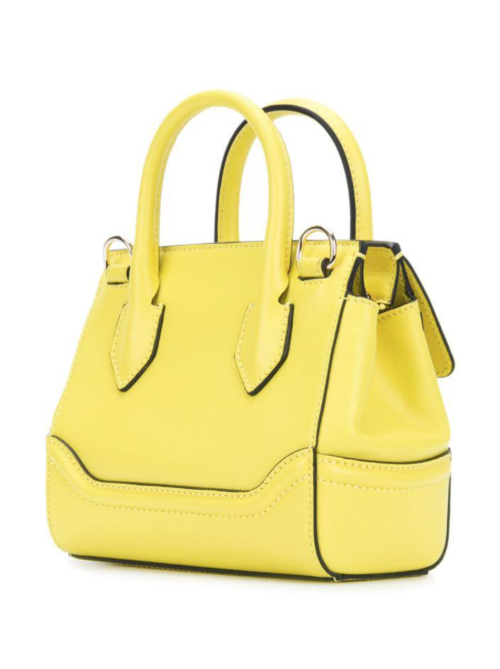 6a11a0273eea Lyst - Versace Mini Palazzo Empire Shoulder Bag in Yellow
