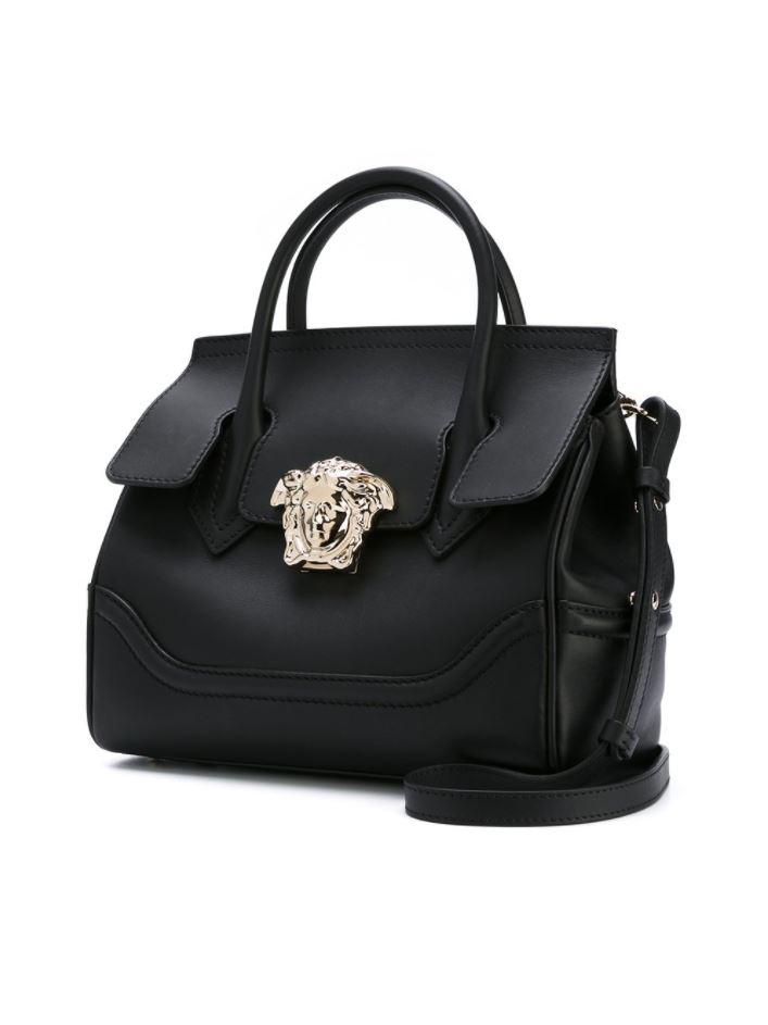 87b8d43336 Versace - Palazzo Empire Shoulder Bag in Black - Lyst