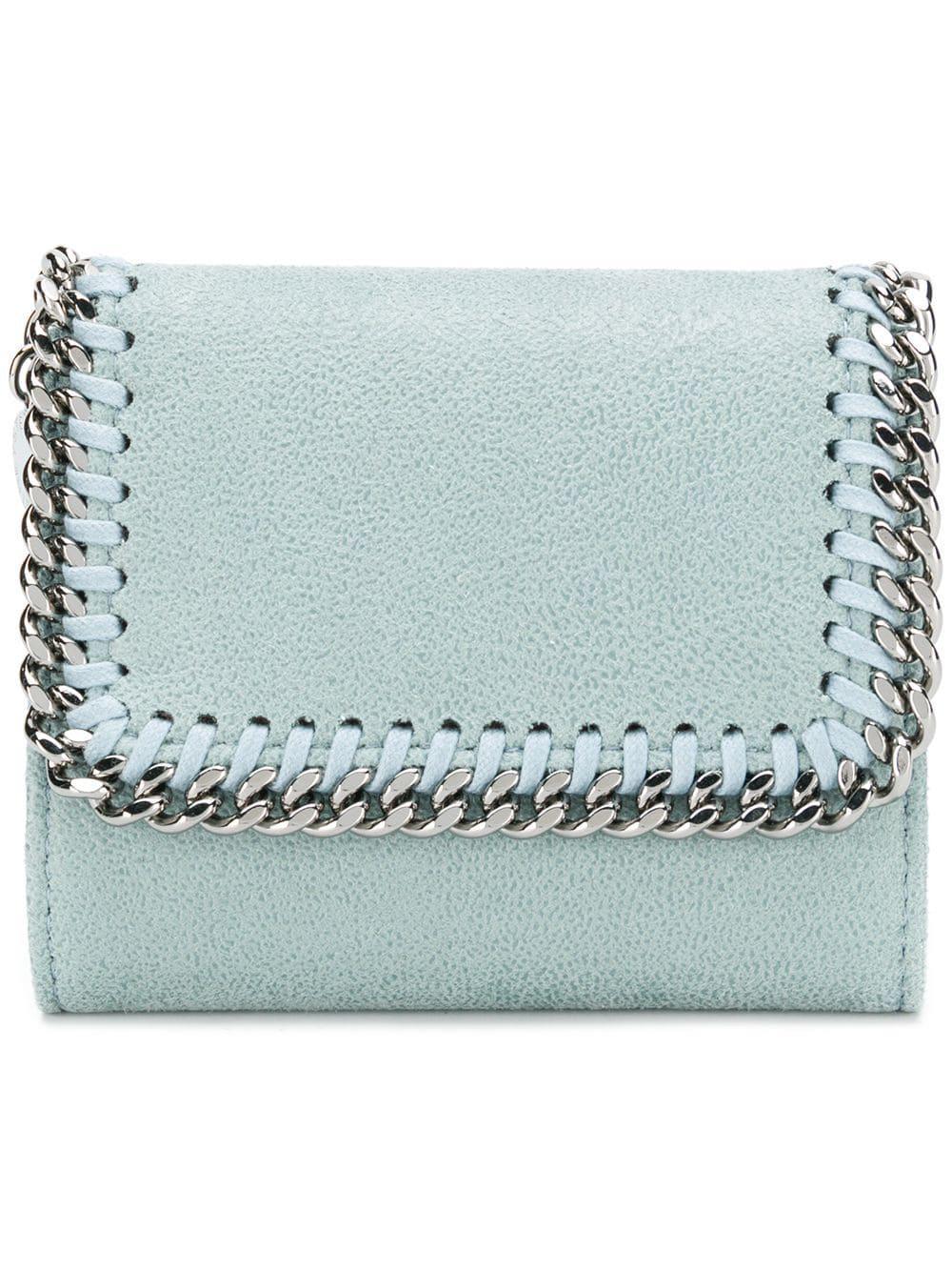 Stella Mccartney Mini Portafoglio `falabella` in Blue - Lyst 66a8cca89cc