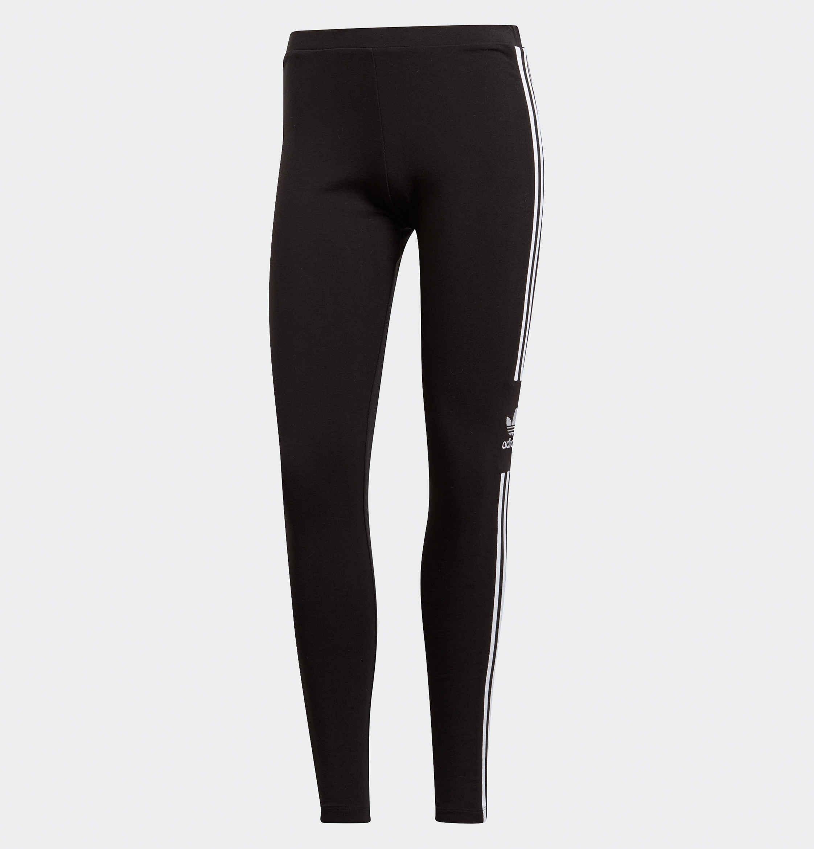 c43599cf5a1 Lyst - adidas Originals Trefoil legging in het Zwart
