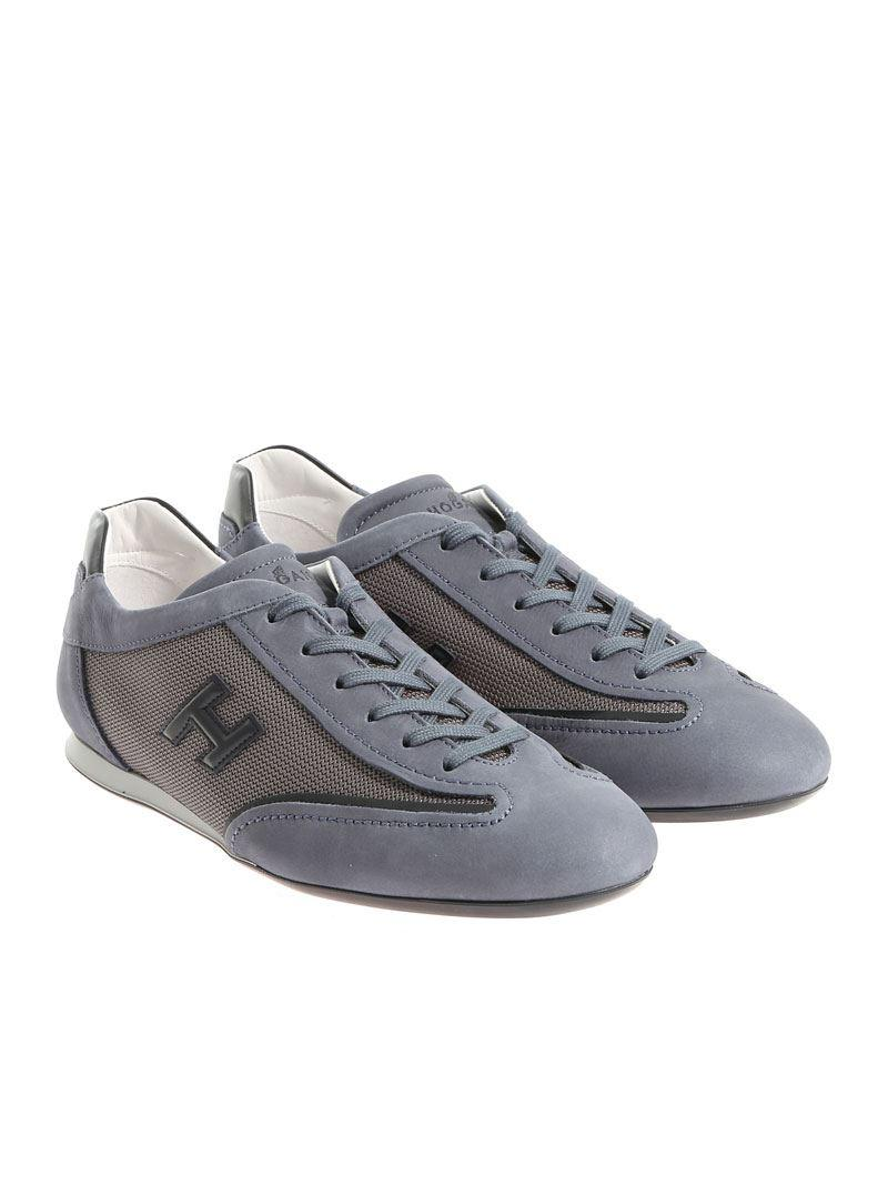 Light blue Olympia sneakers Hogan