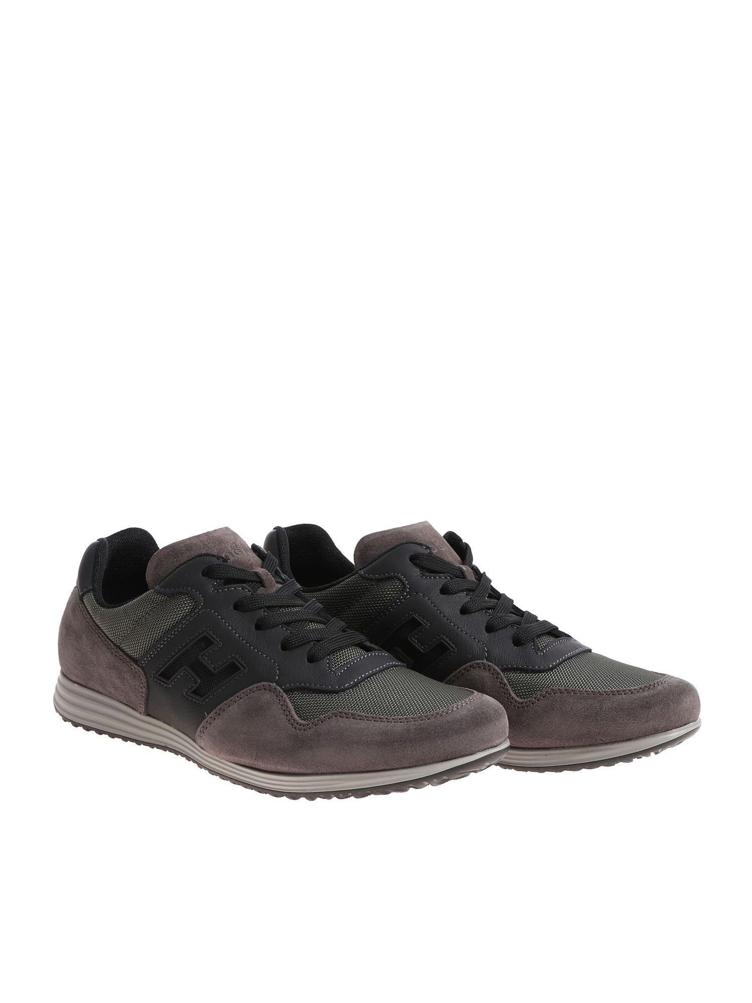 e33b99dbdf9 Lyst - Hogan H205 Olympia X Grey Sneakers in Gray for Men